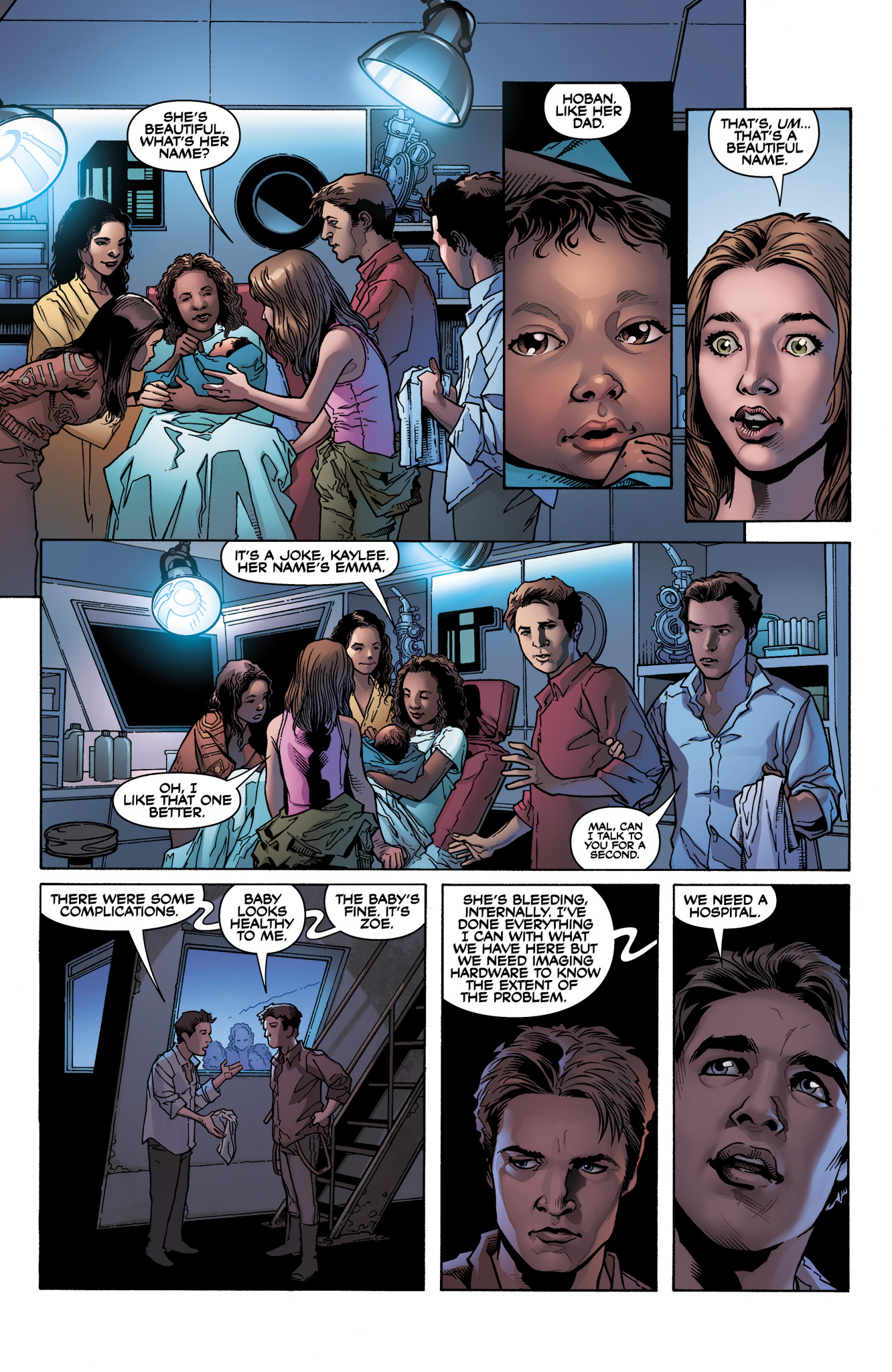 Read online Serenity: Firefly Class 03-K64  Leaves on the Wind comic -  Issue #1 - 19