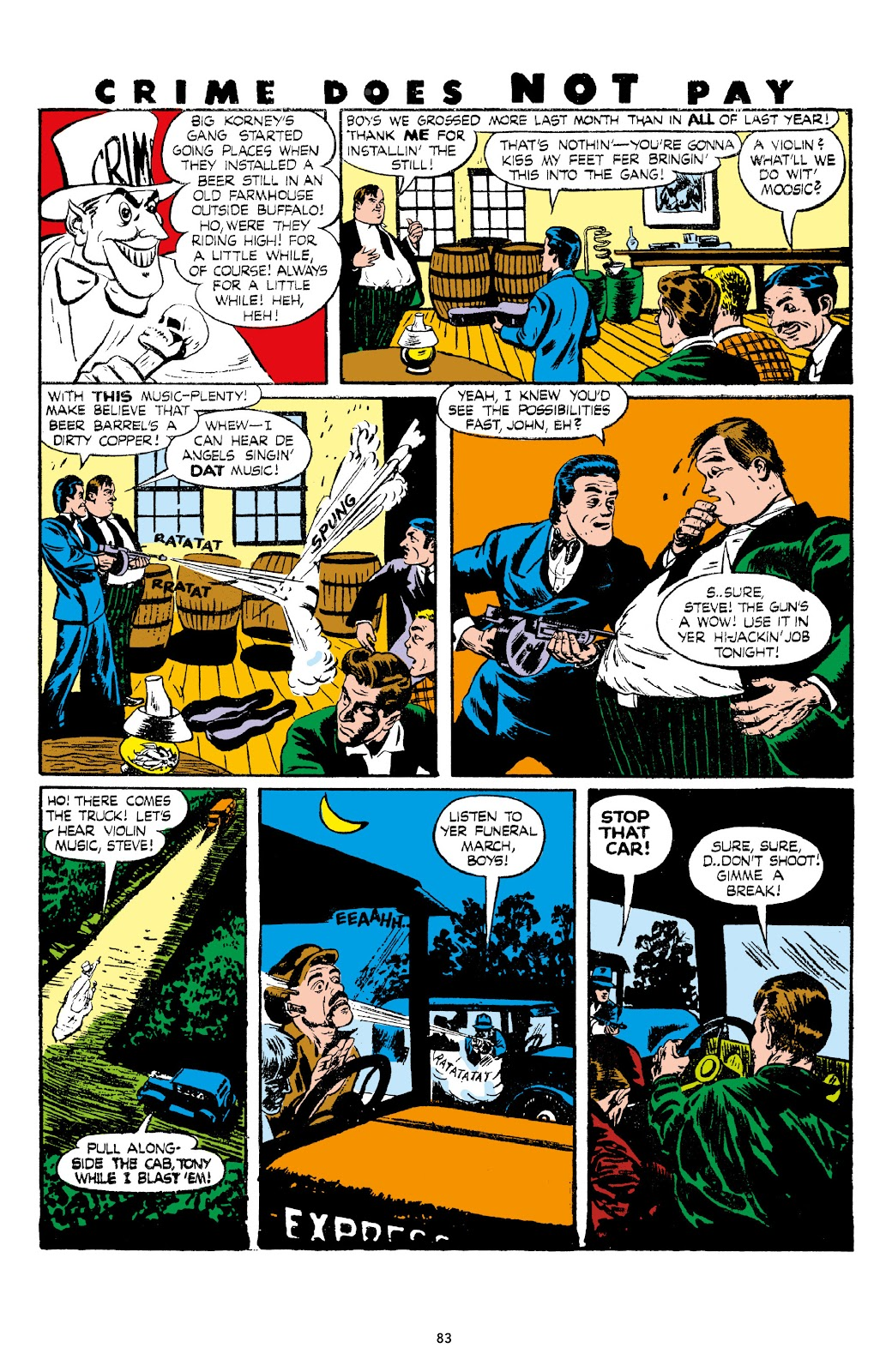 Read online Crime Does Not Pay Archives comic -  Issue # TPB 7 (Part 1) - 85