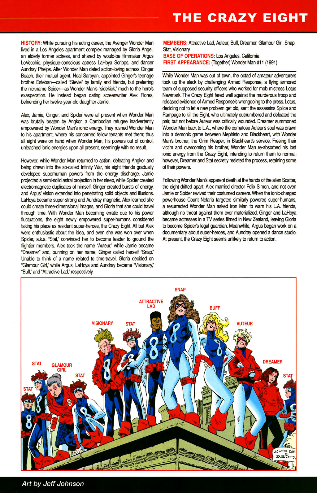 Read online All-New Official Handbook of the Marvel Universe A to Z comic -  Issue #3 - 11