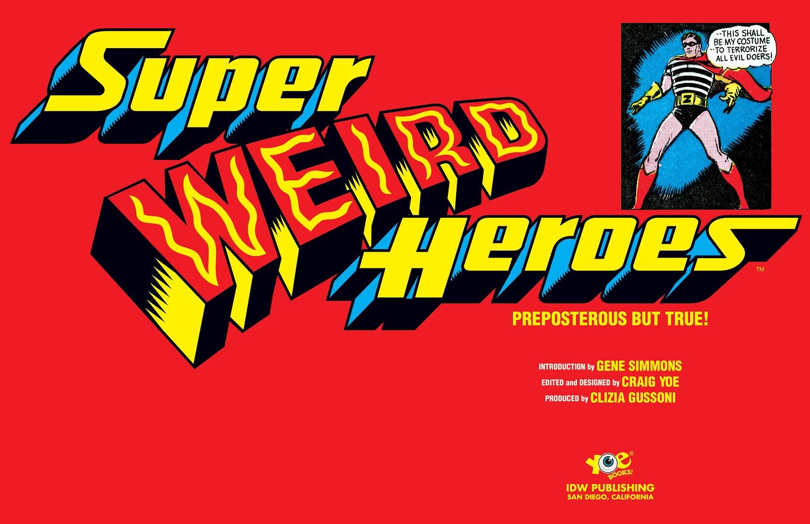 Read online Super Weird Heroes comic -  Issue # TPB 2 (Part 1) - 4