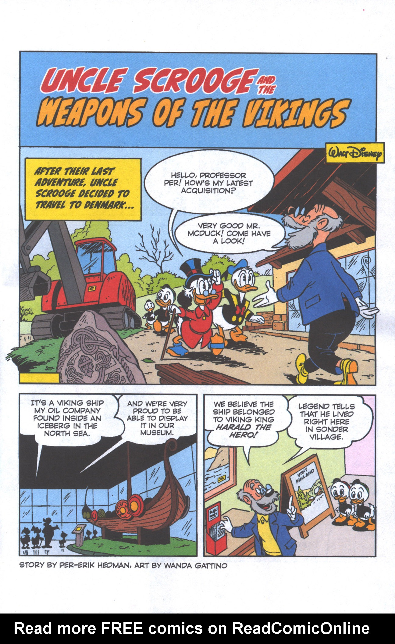 Read online Uncle Scrooge (1953) comic -  Issue #386 - 4