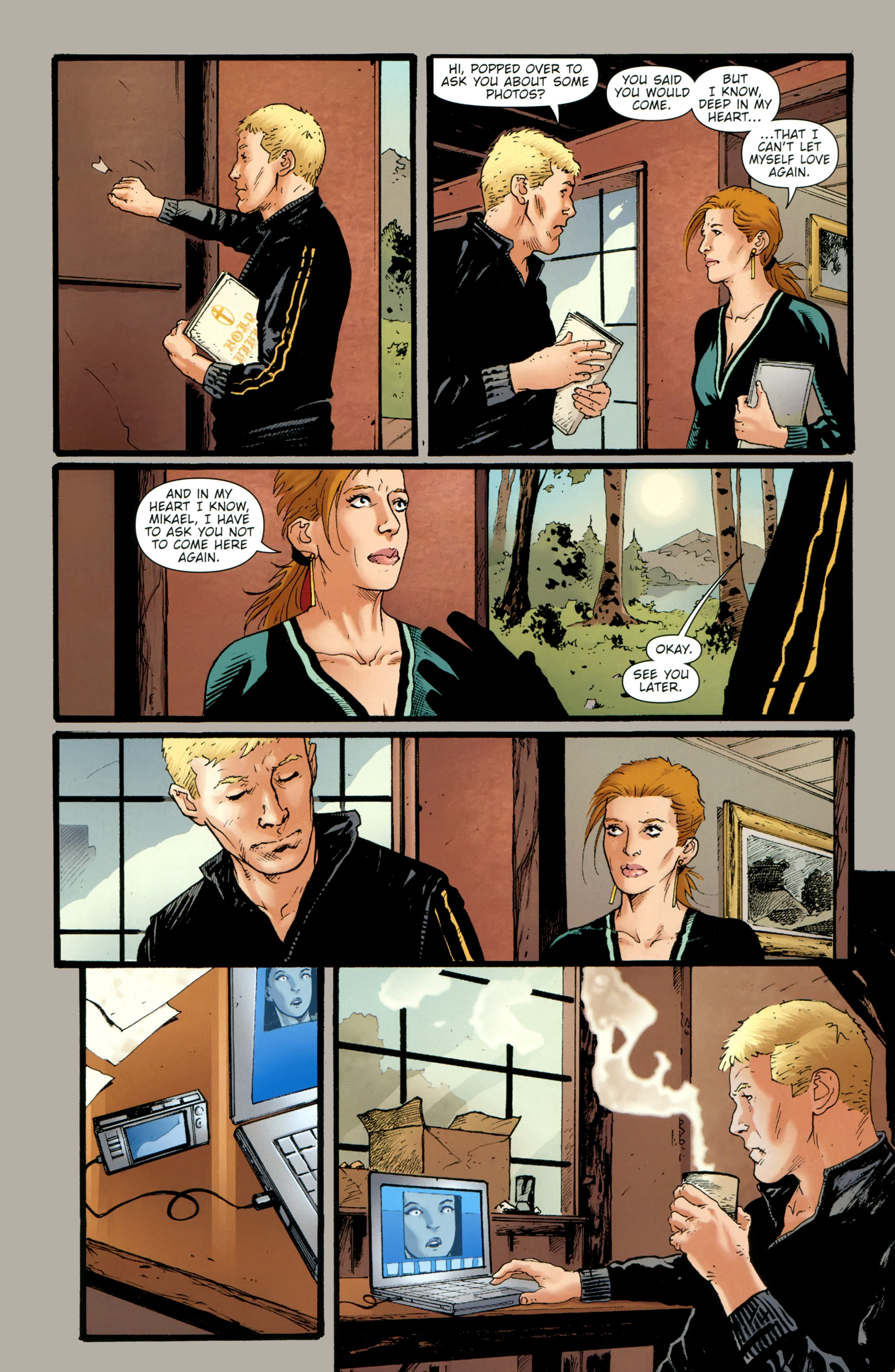 Read online The Girl With the Dragon Tattoo comic -  Issue # TPB 2 - 23