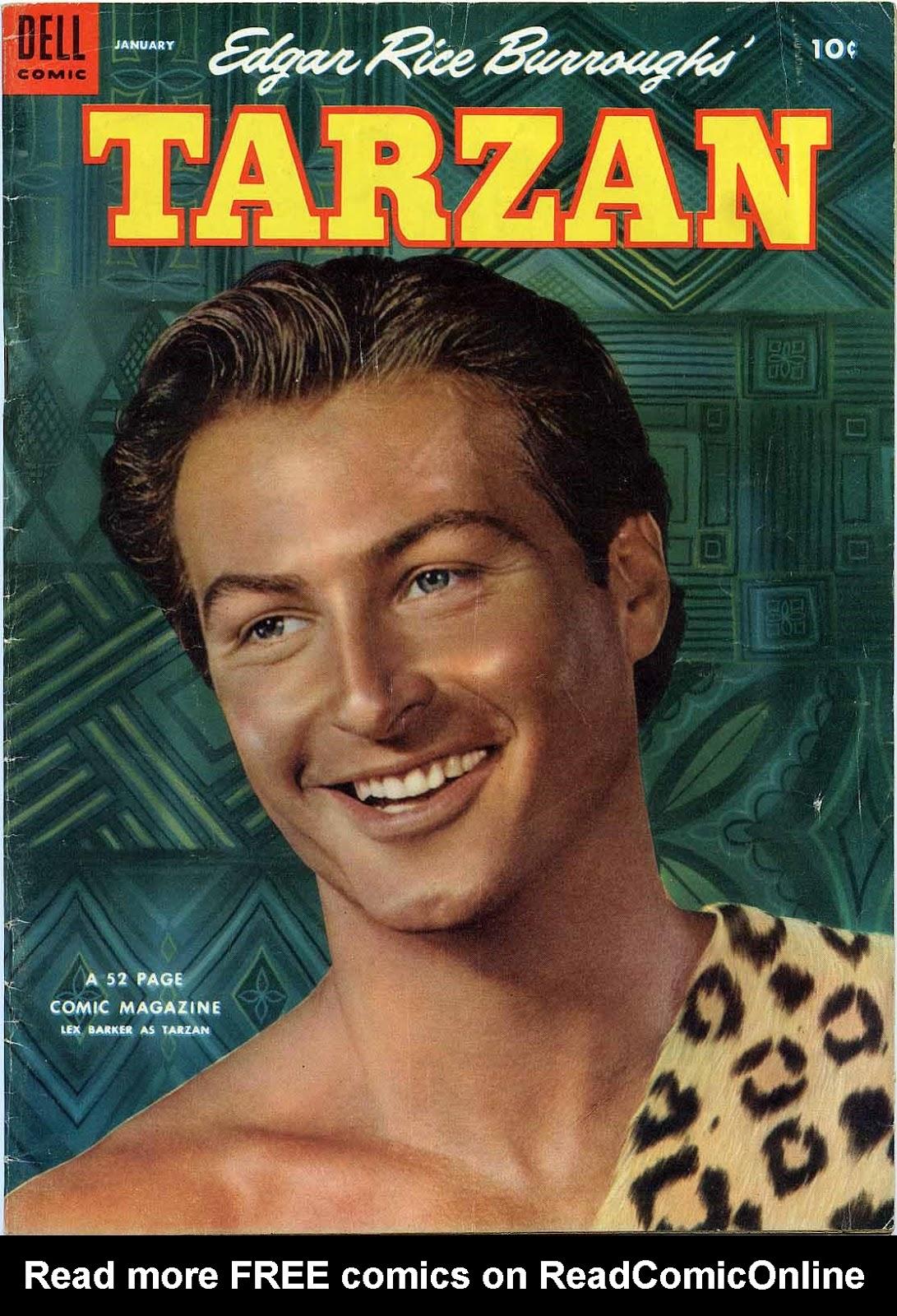 Tarzan (1948) issue 52 - Page 1