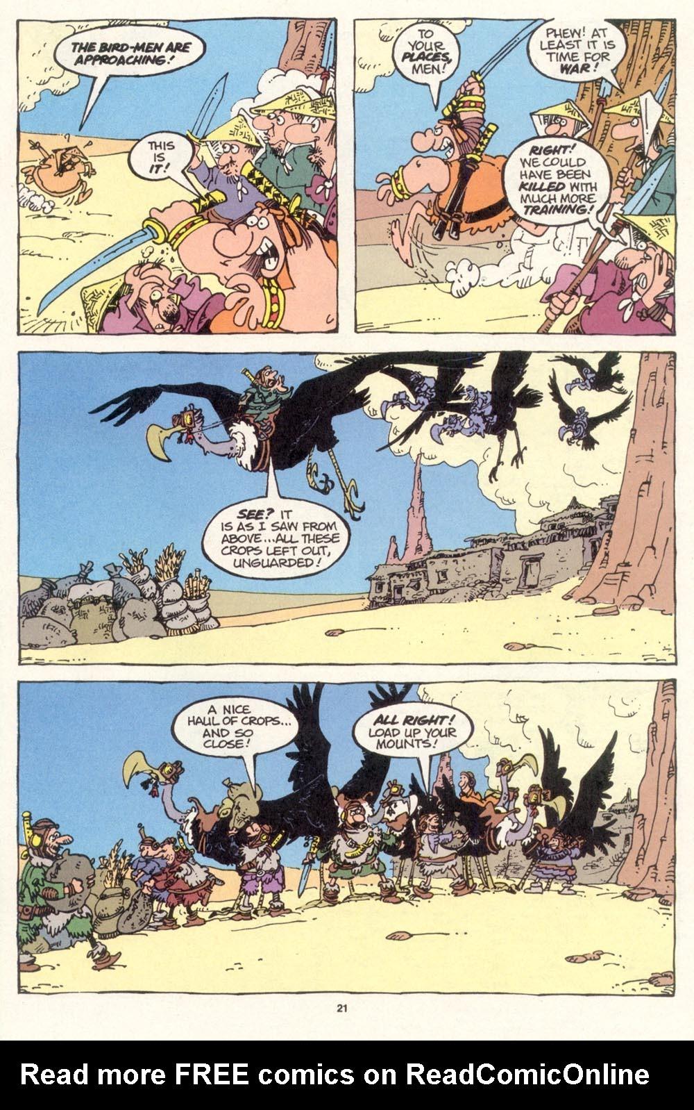 Read online Sergio Aragonés Groo the Wanderer comic -  Issue #115 - 23