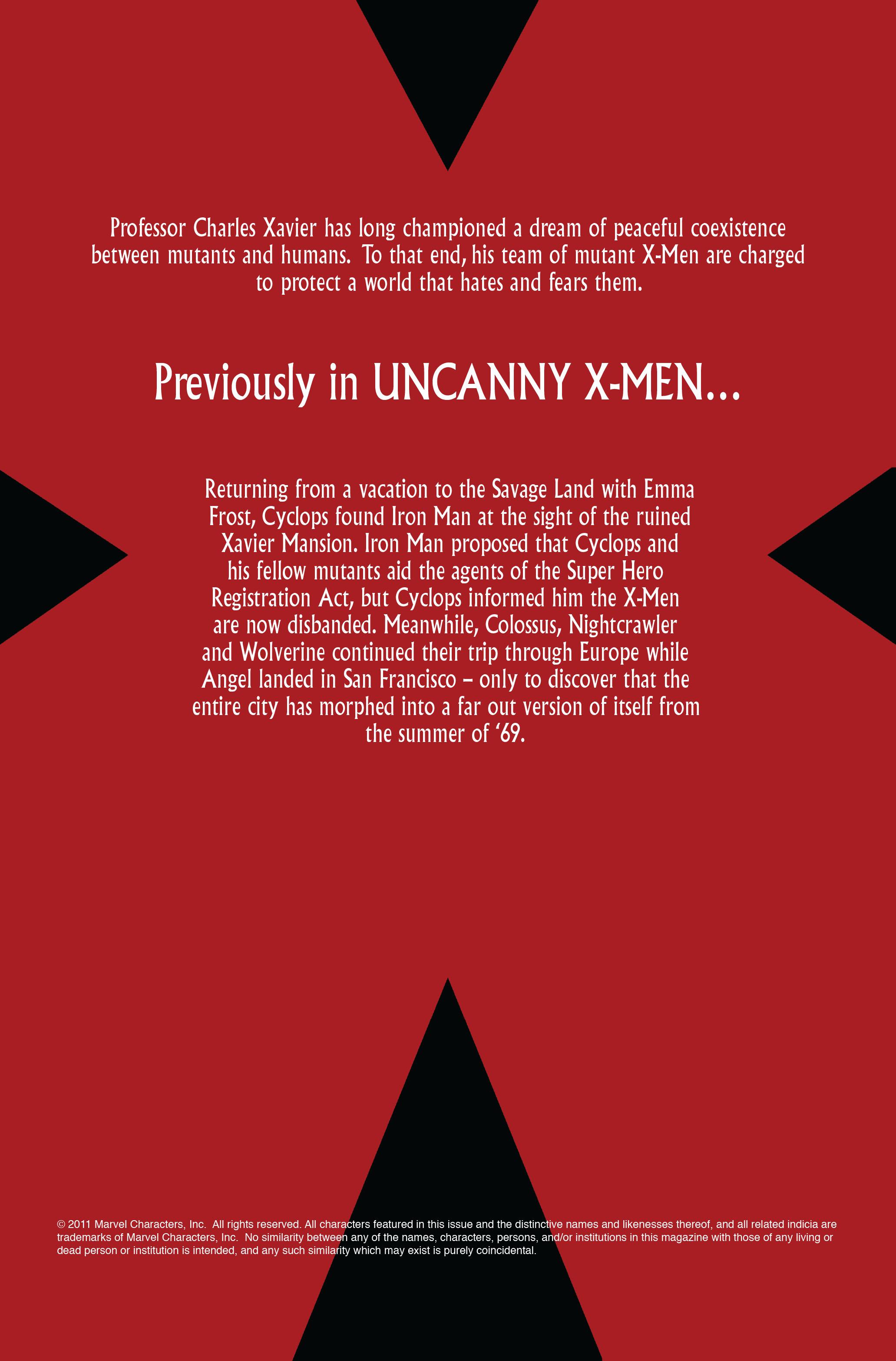 Read online Uncanny X-Men (1963) comic -  Issue #496 - 2