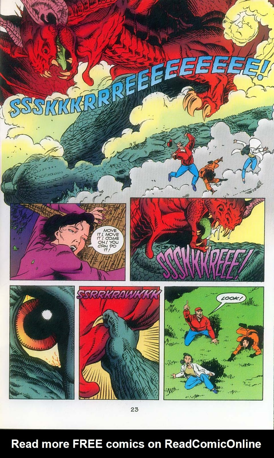 Godzilla (1995) Issue #3 #4 - English 25