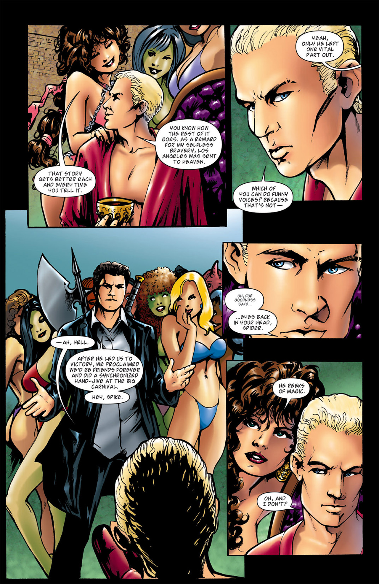 Read online Angel: After The Fall comic -  Issue #2 - 21