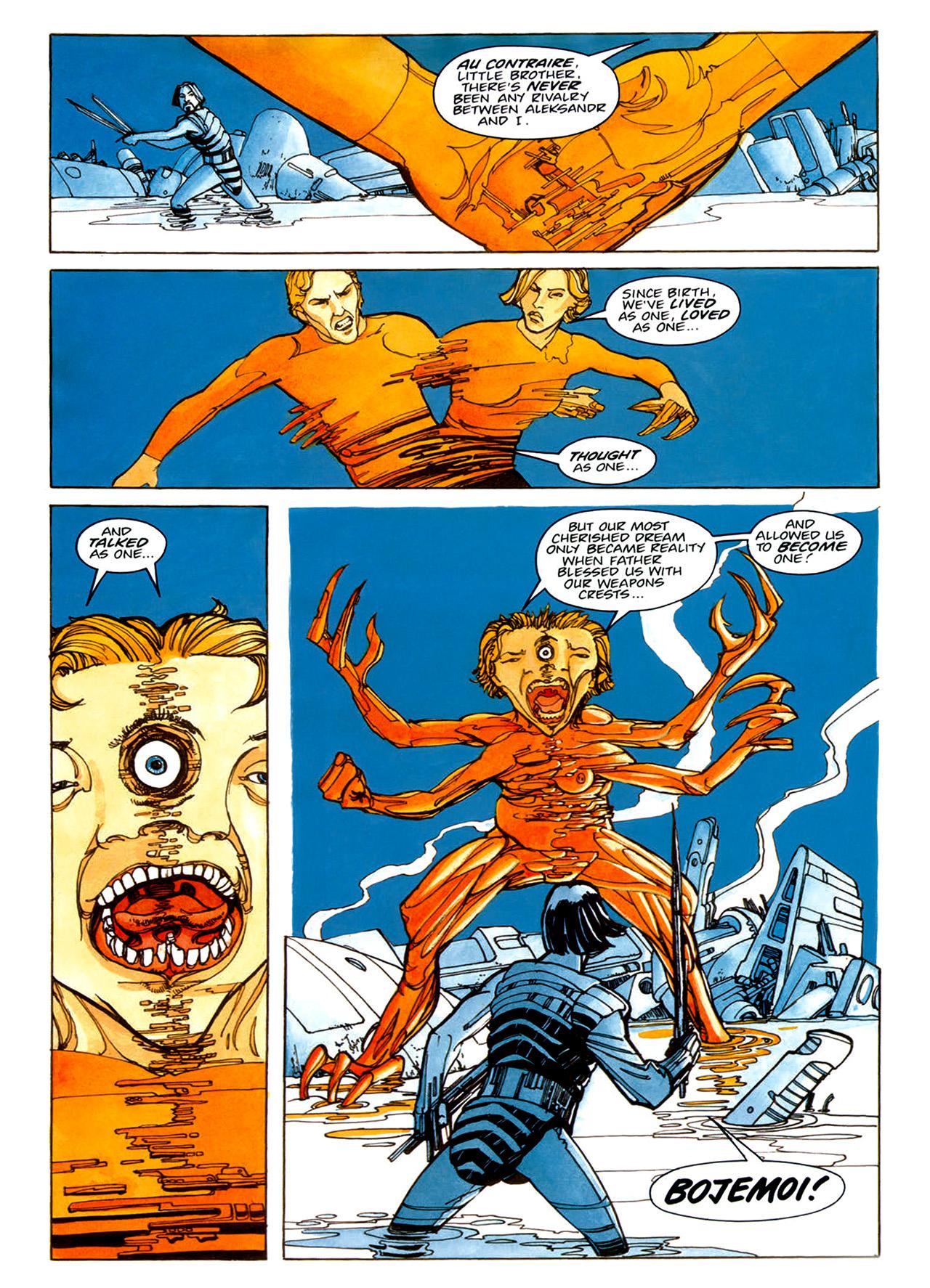 Read online Nikolai Dante comic -  Issue # TPB 1 - 40
