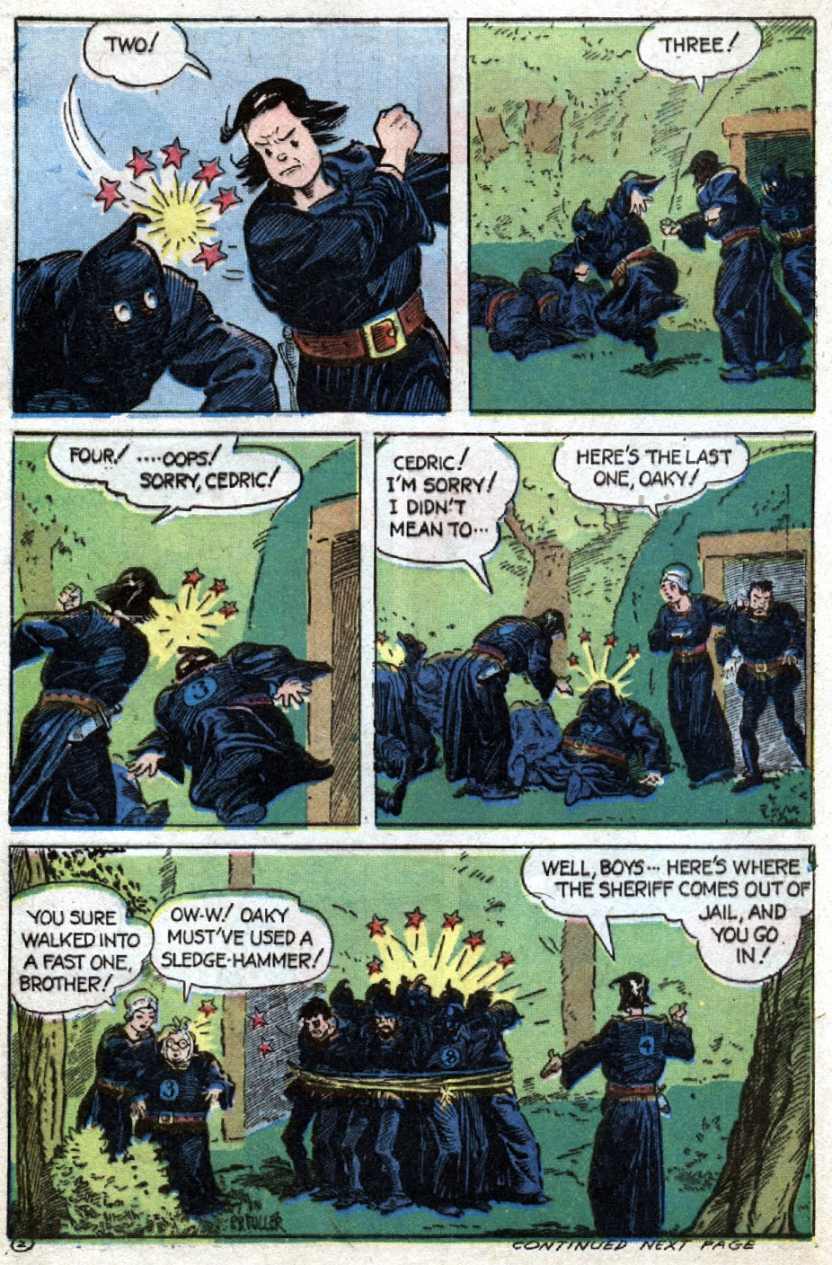 Read online Famous Funnies comic -  Issue #121 - 44
