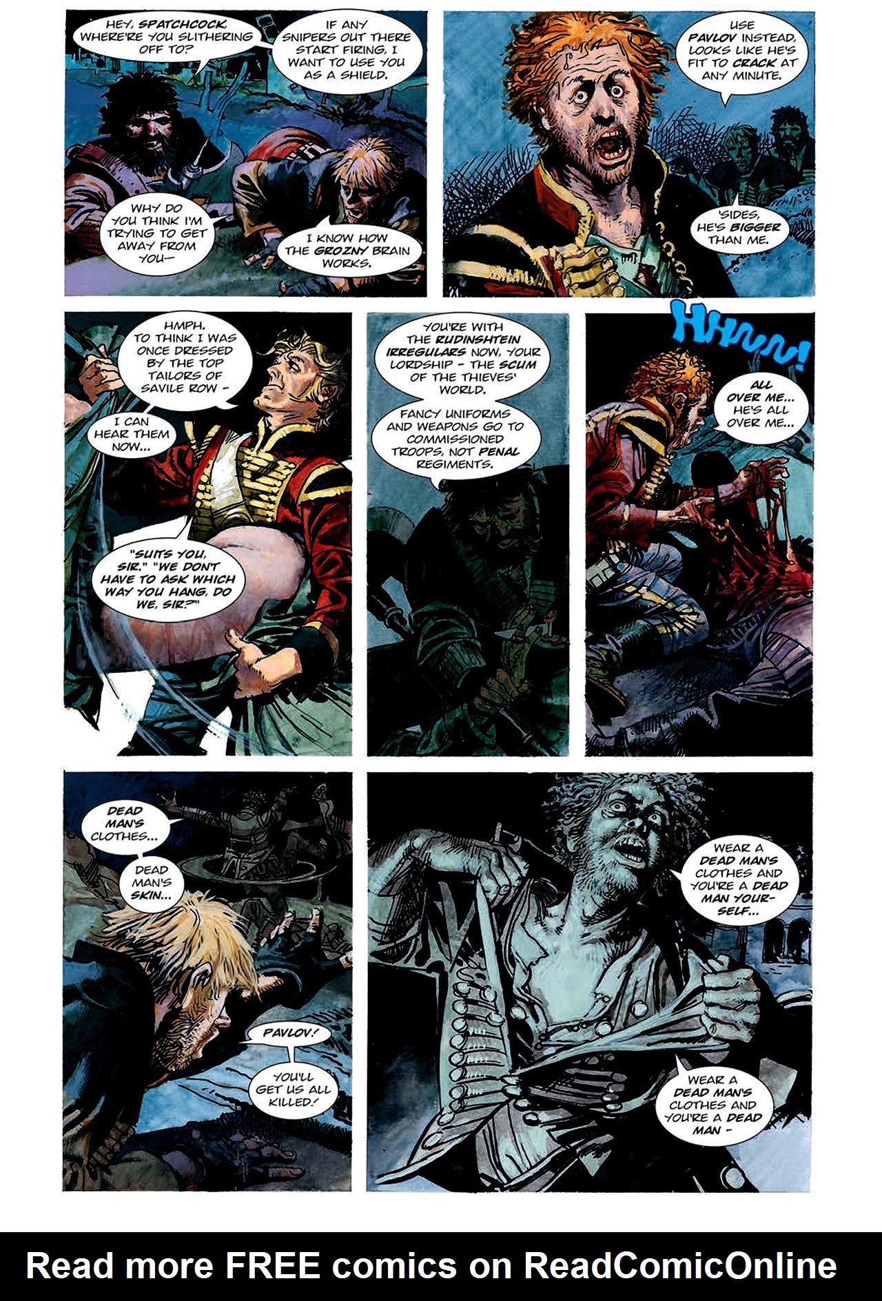 Read online Nikolai Dante comic -  Issue # TPB 4 - 60