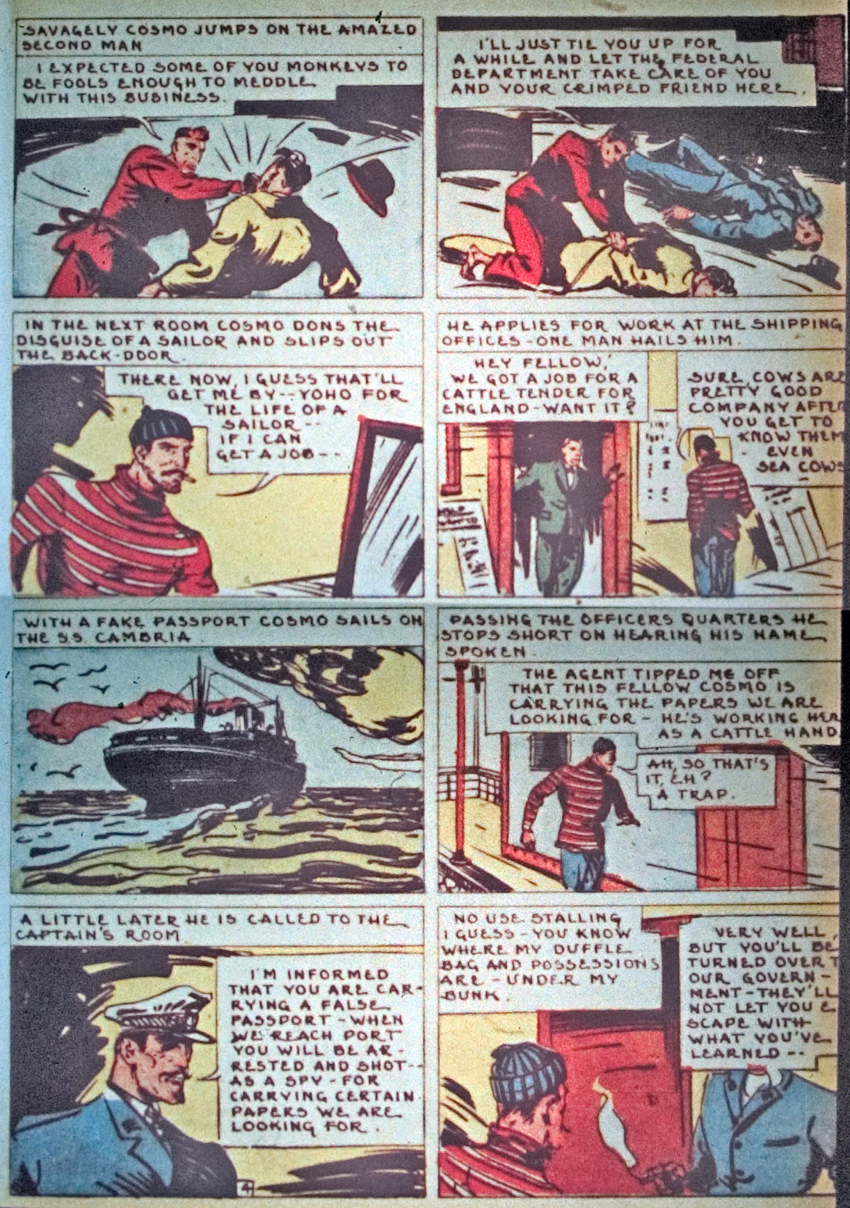 Read online Detective Comics (1937) comic -  Issue #34 - 45
