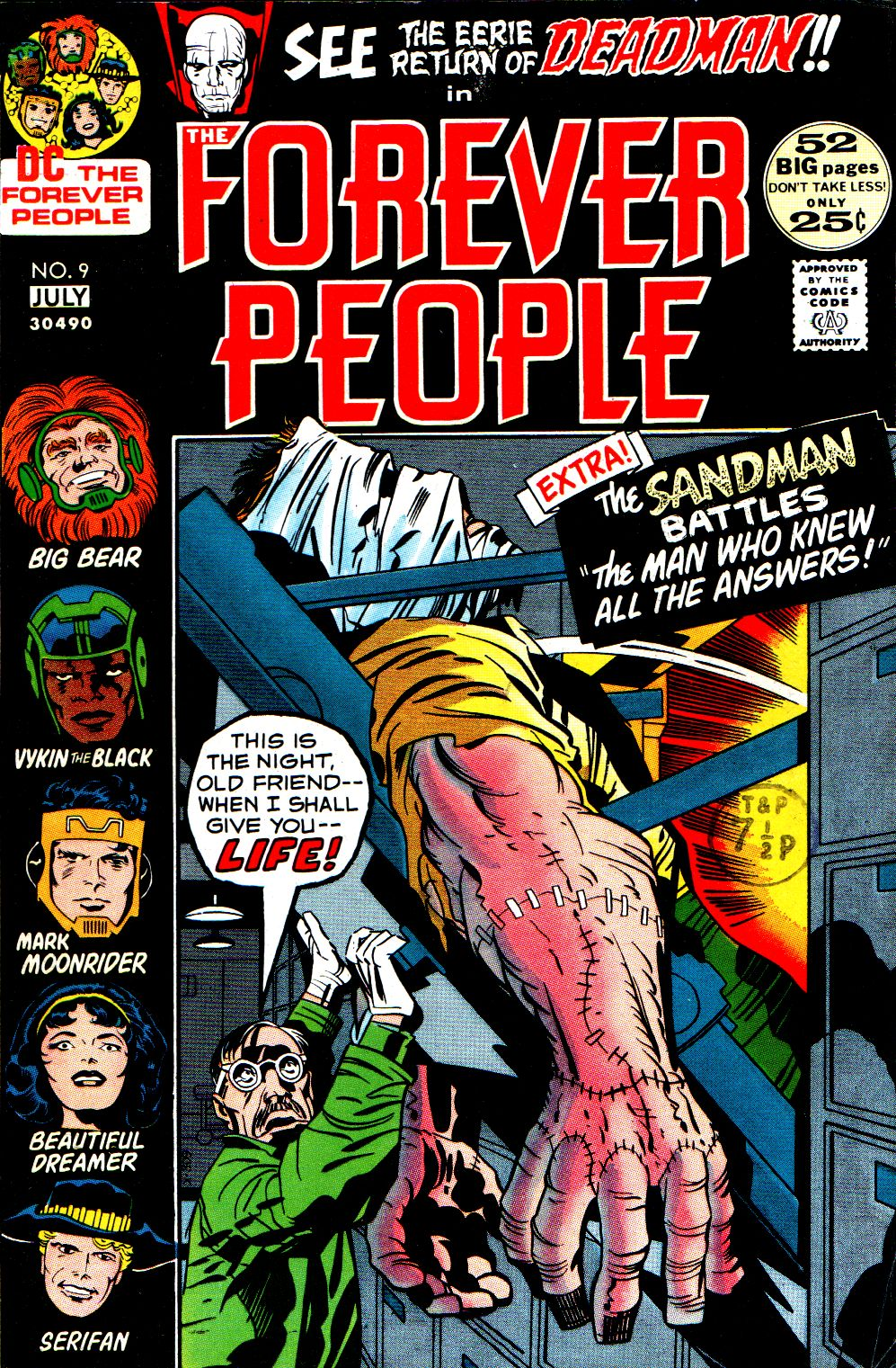 Forever People (1971) issue 9 - Page 1