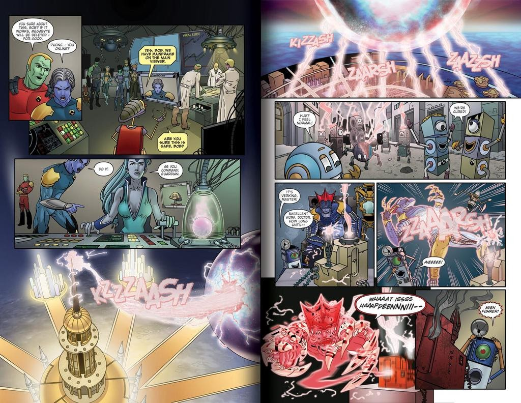 Read online ReBoot: Paradigms Lost comic -  Issue # Full - 10