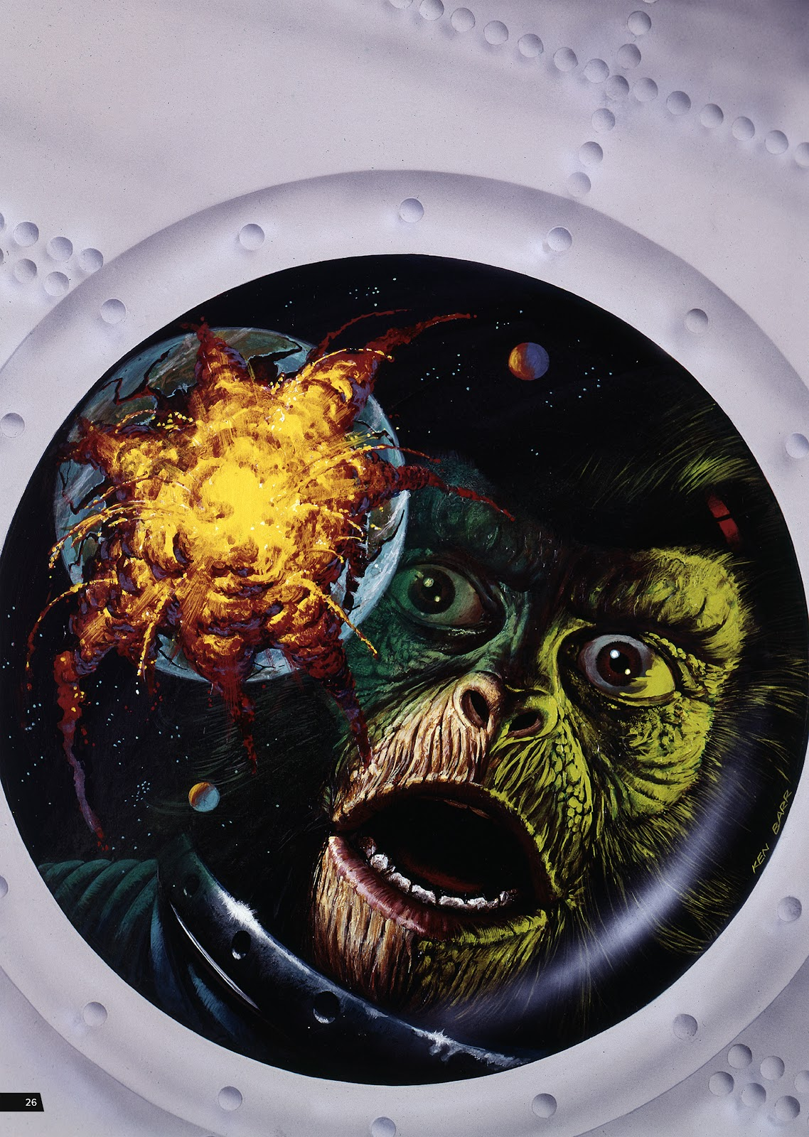 Read online Planet of the Apes Artist Tribute comic -  Issue # TPB - 26