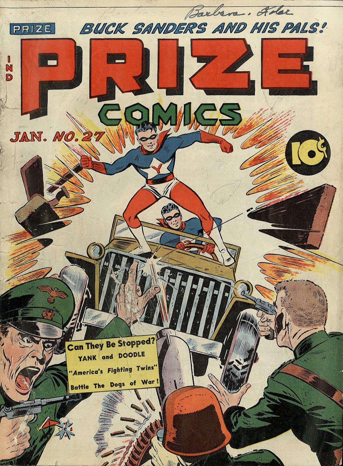 Prize Comics 27 Page 1