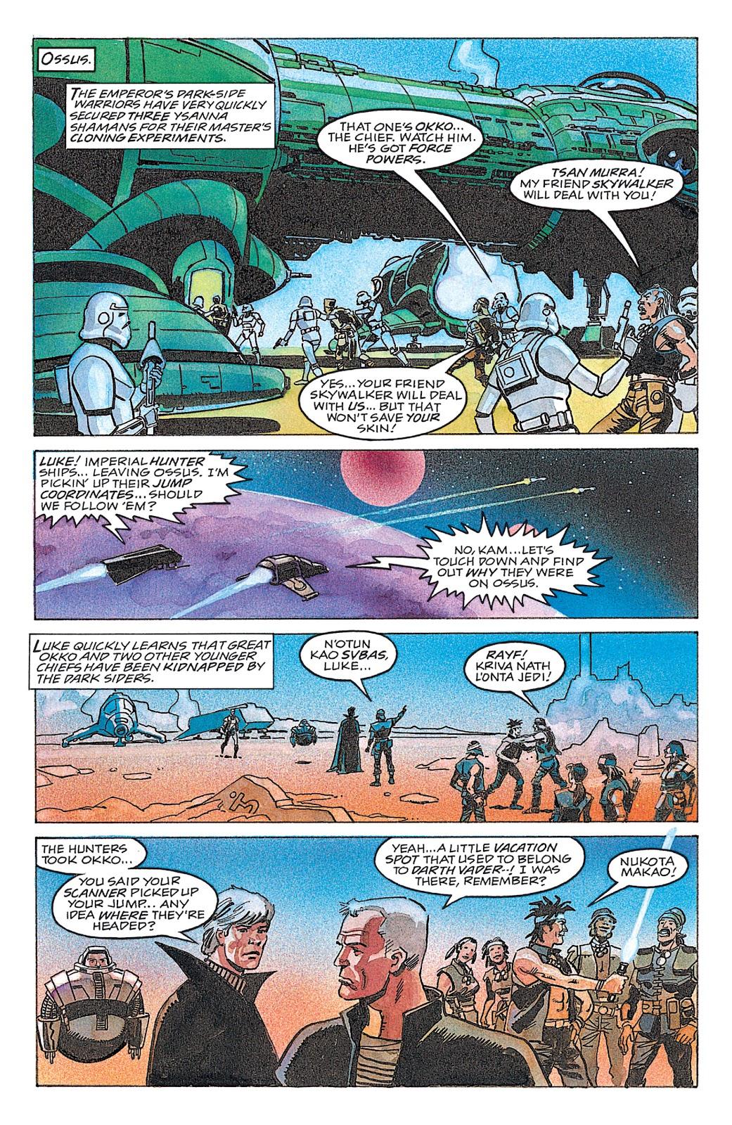 Read online Star Wars: Dark Empire Trilogy comic -  Issue # TPB (Part 4) - 27