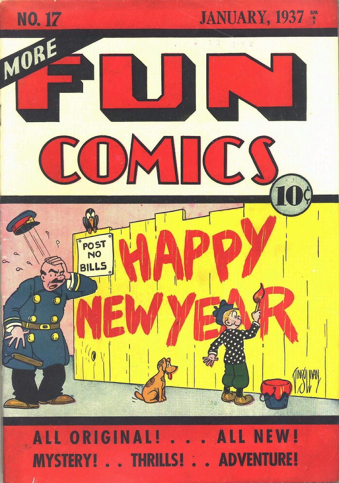 More Fun Comics 17 Page 2