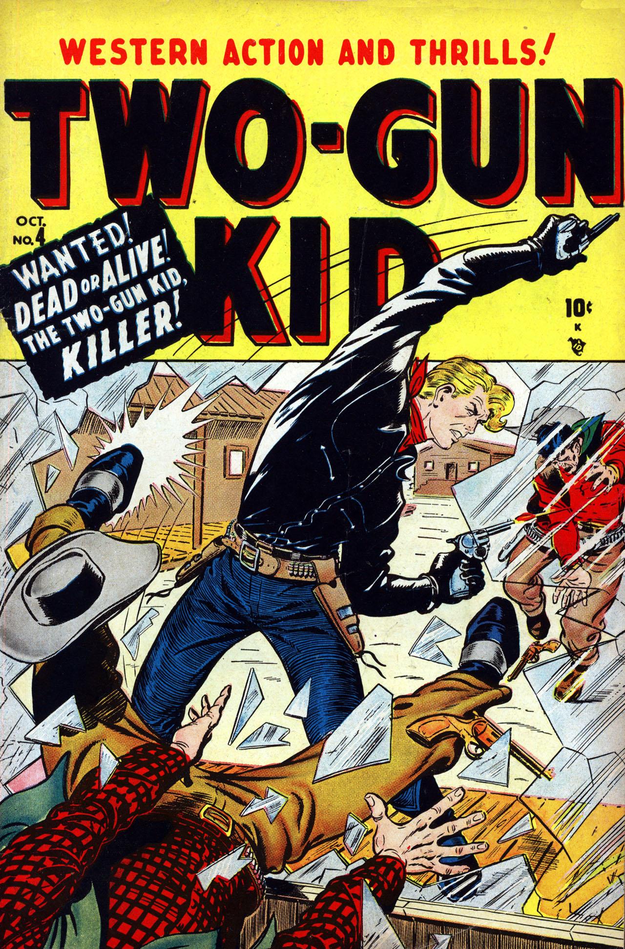 Read online Two-Gun Kid comic -  Issue #4 - 1