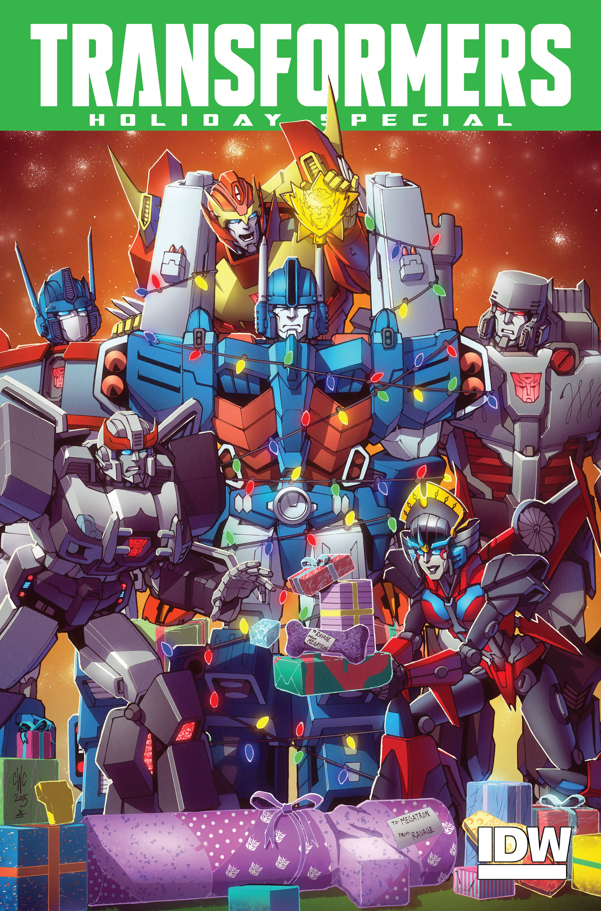Read online Transformers: Holiday Special comic -  Issue # Full - 1