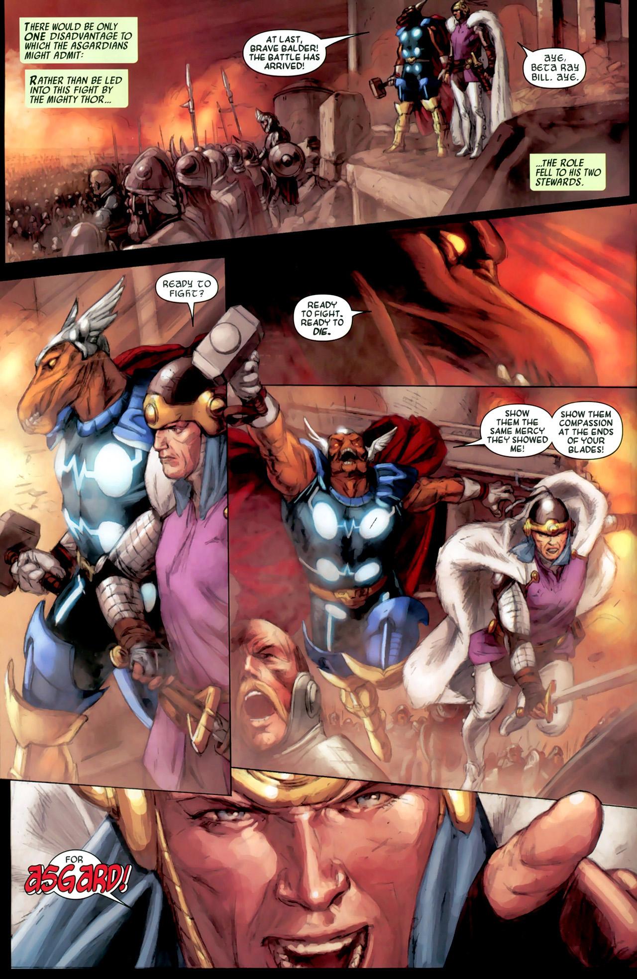 Read online Secret Invasion: Thor comic -  Issue #2 - 4