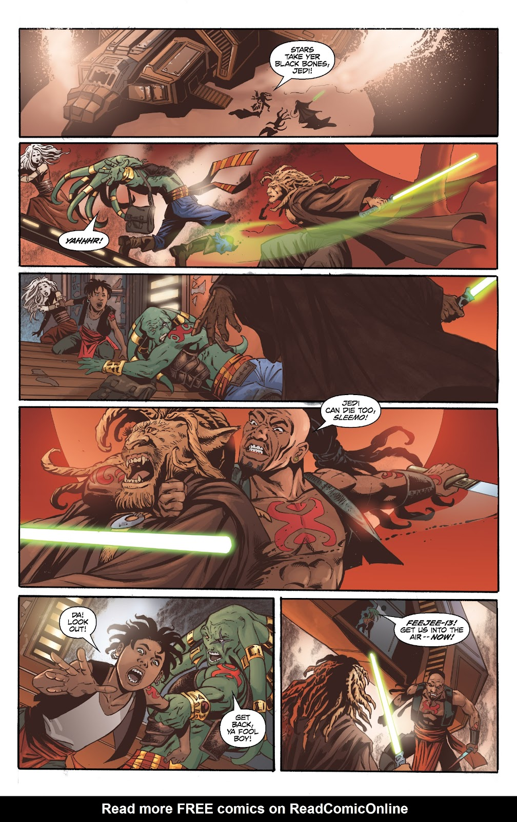Read online Star Wars Legends: Legacy - Epic Collection comic -  Issue # TPB 2 (Part 2) - 81