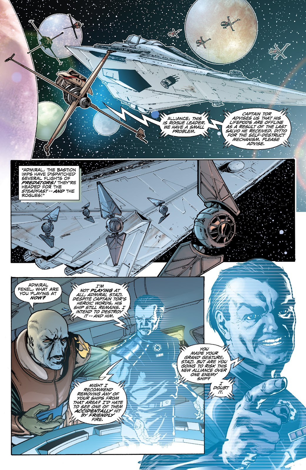 Read online Star Wars Legends: Legacy - Epic Collection comic -  Issue # TPB 2 (Part 5) - 8