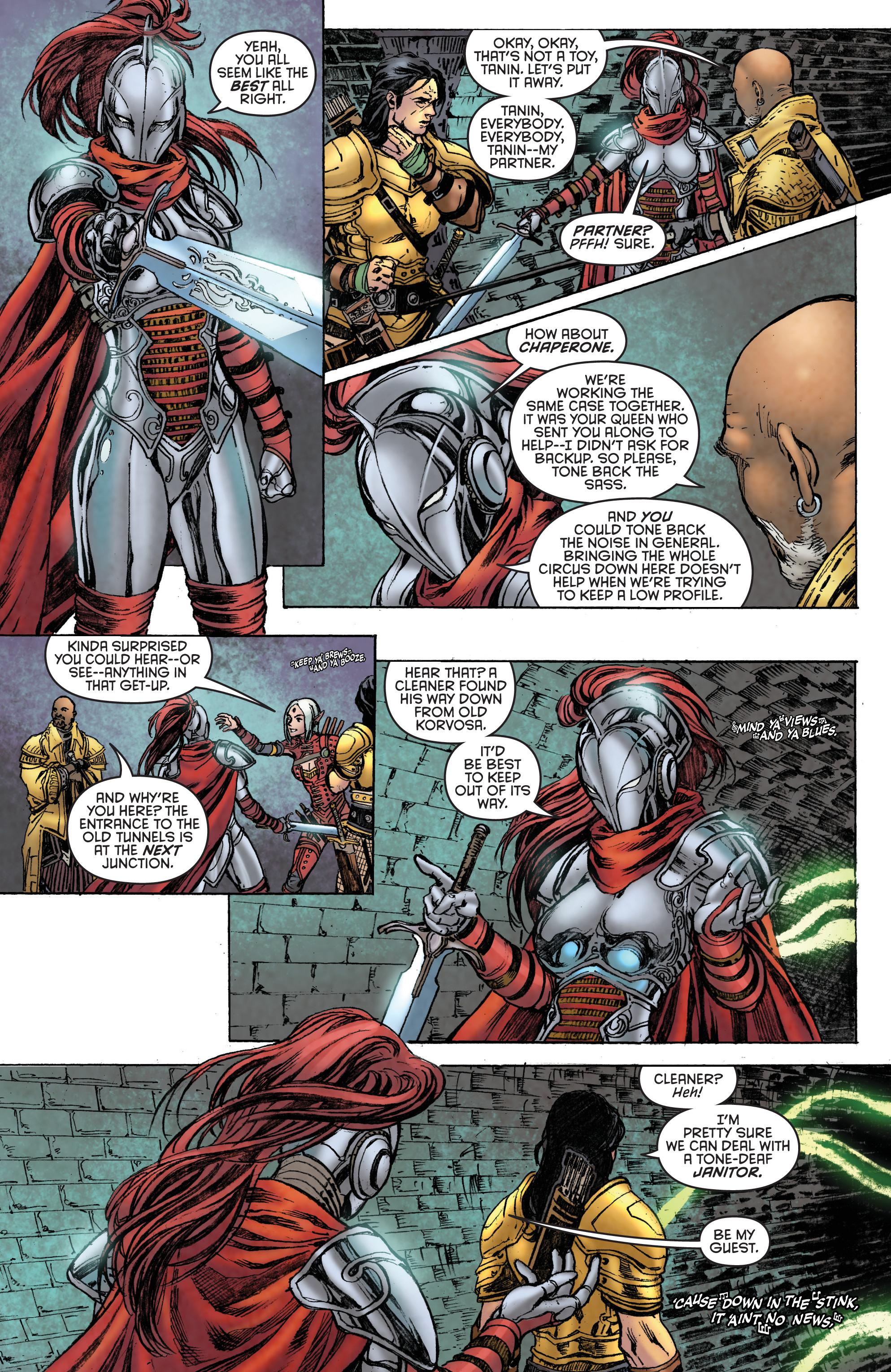 Read online Pathfinder: Runescars comic -  Issue #1 - 17