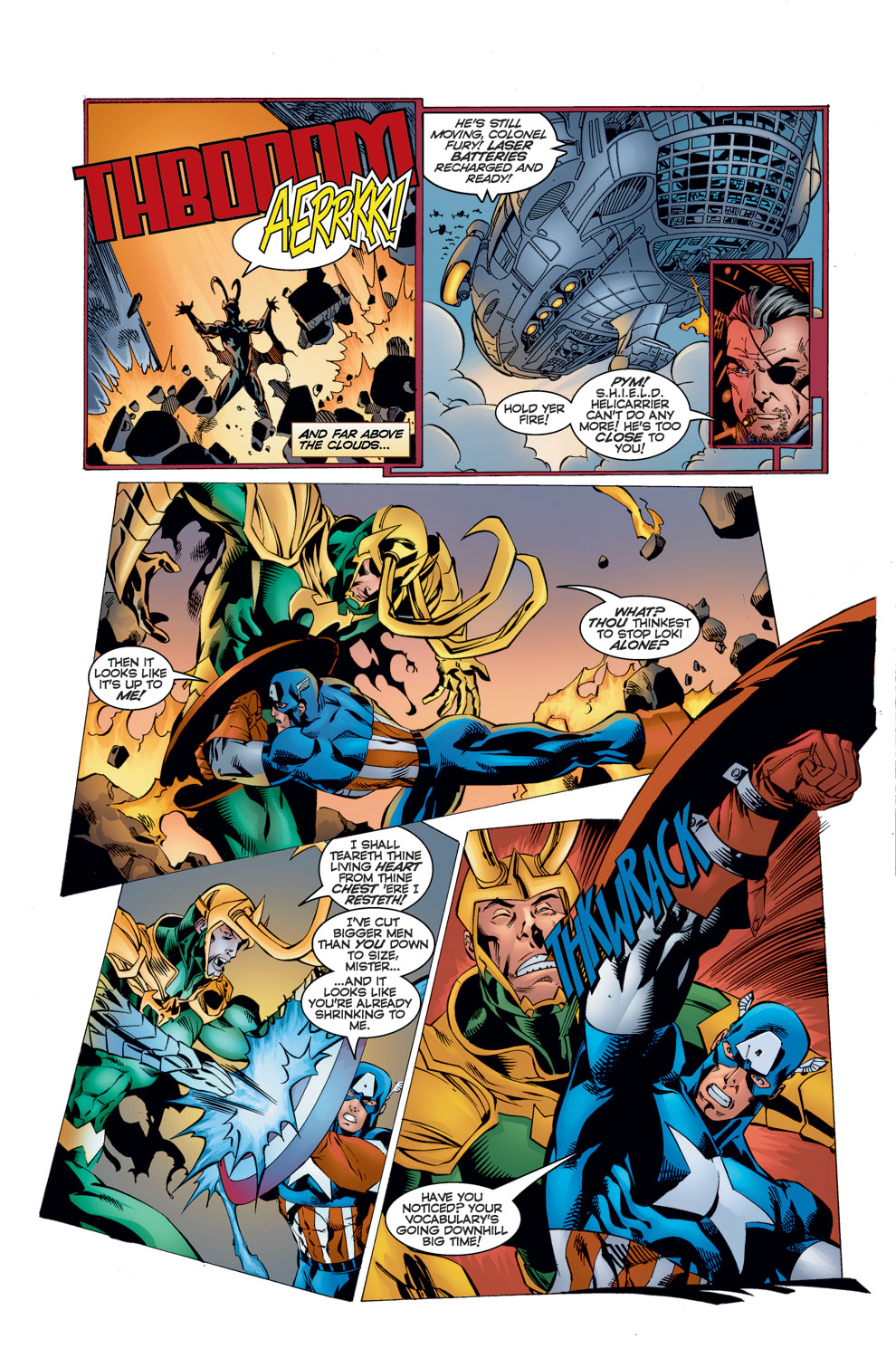 Read online Avengers (1996) comic -  Issue #11 - 20