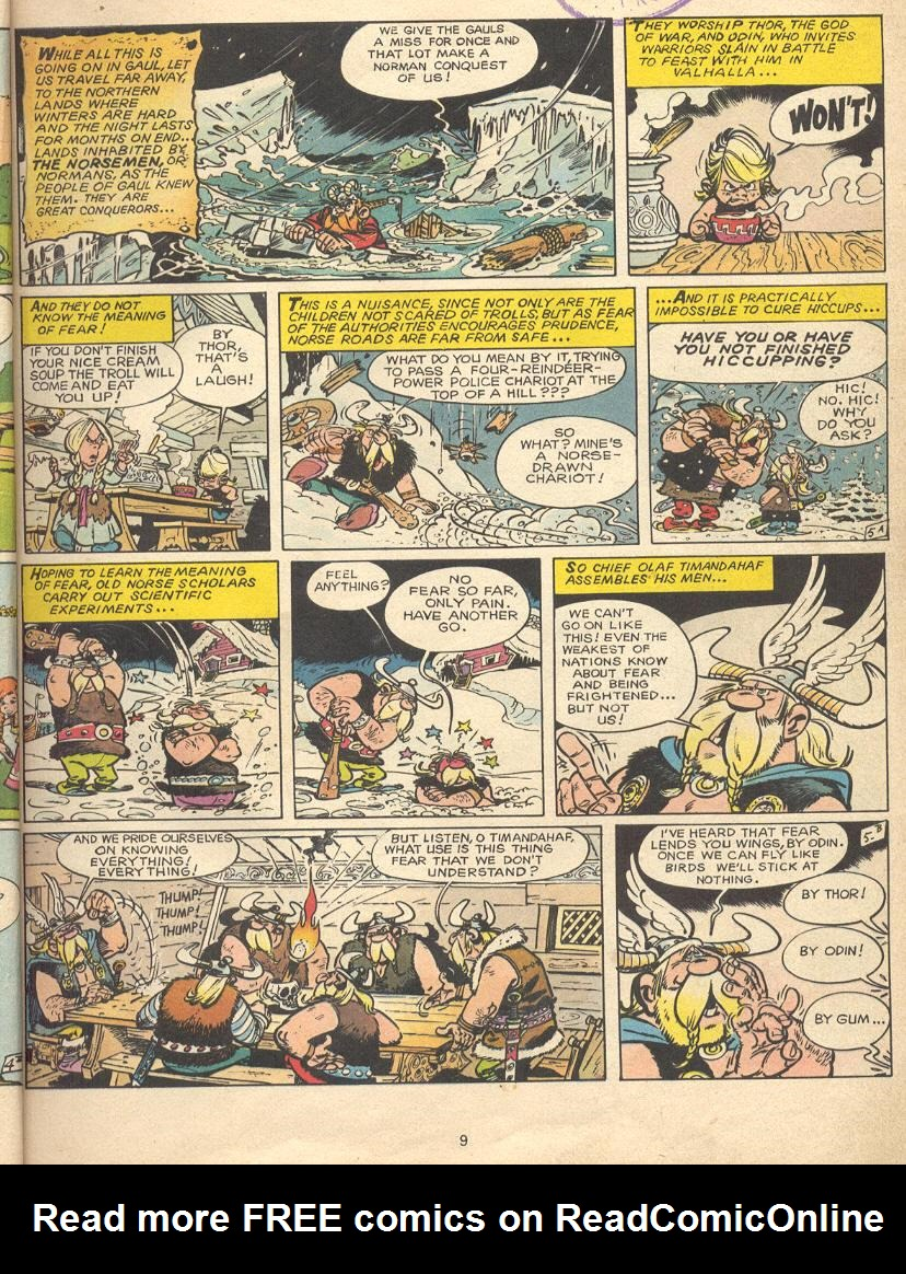 Read online Asterix comic -  Issue #9 - 6