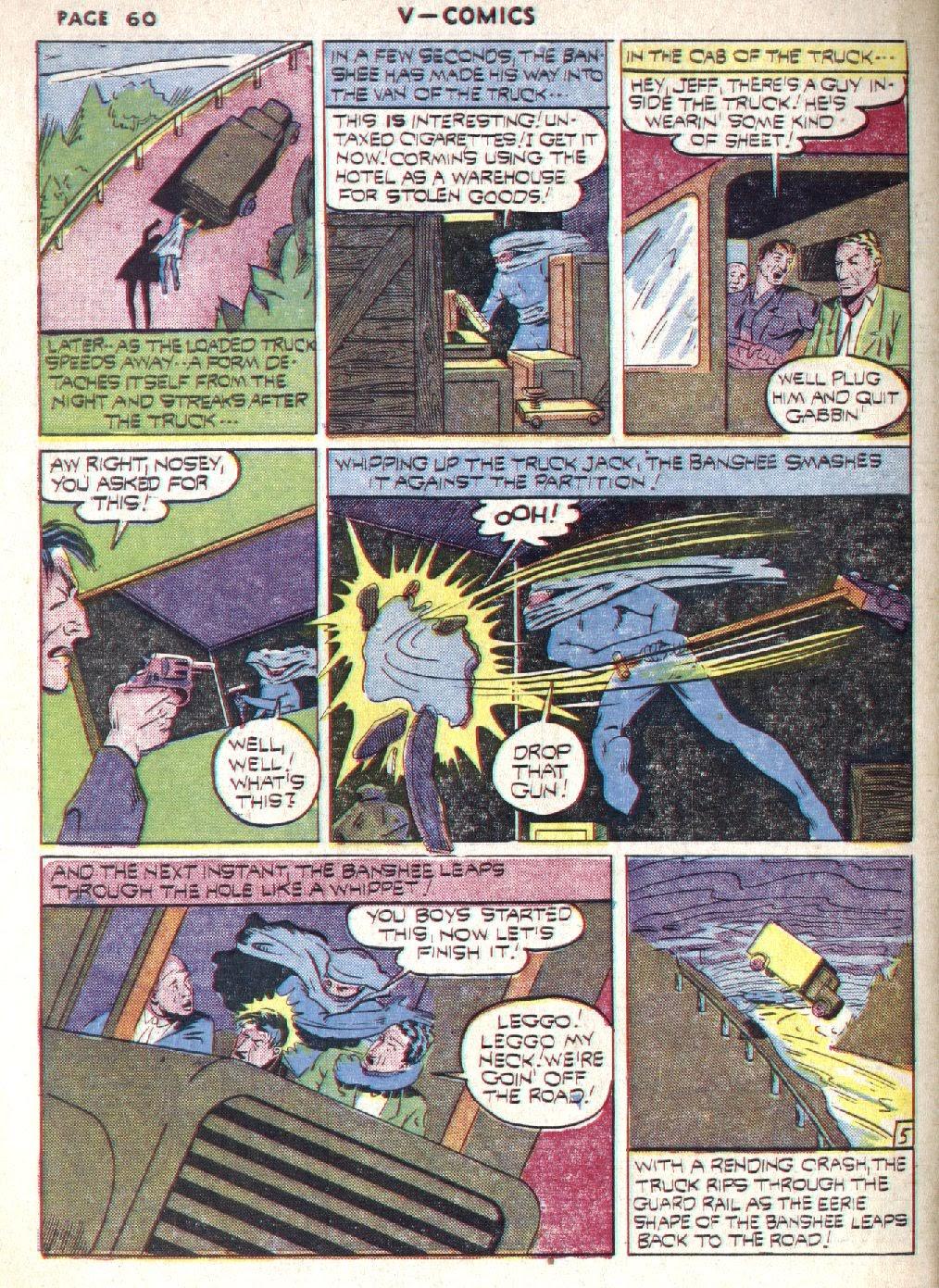 Read online V...- Comics comic -  Issue #1 - 61