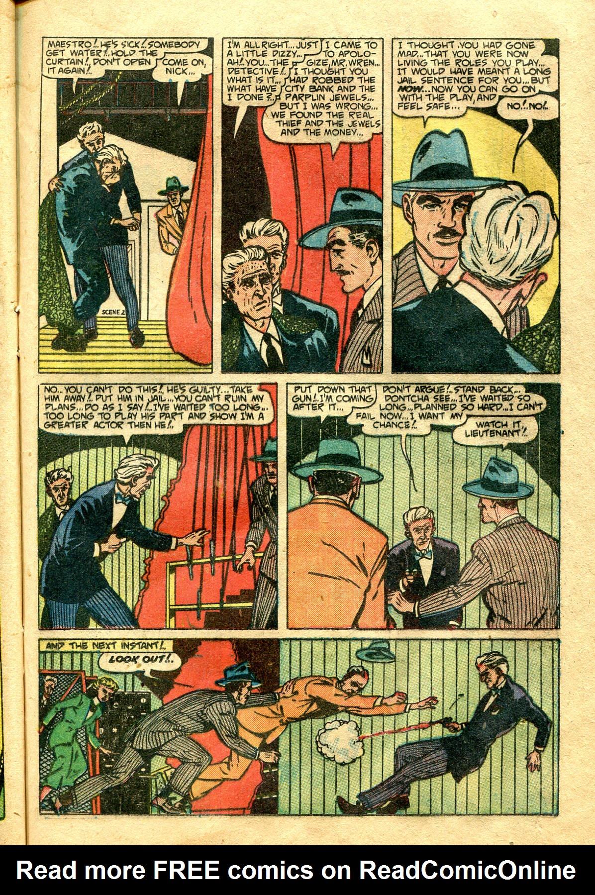 Read online Shadow Comics comic -  Issue #99 - 37