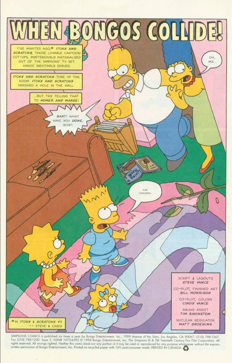 Read online Simpsons Comics comic -  Issue #5 - 2