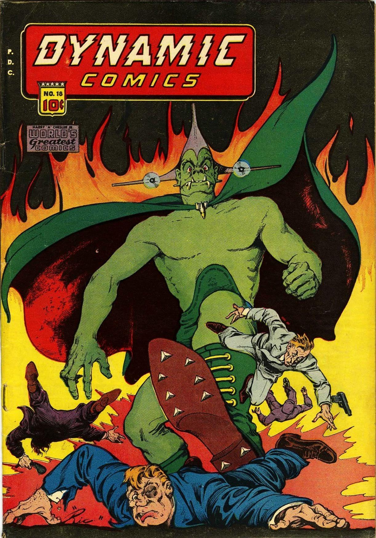 Dynamic Comics 18 Page 1