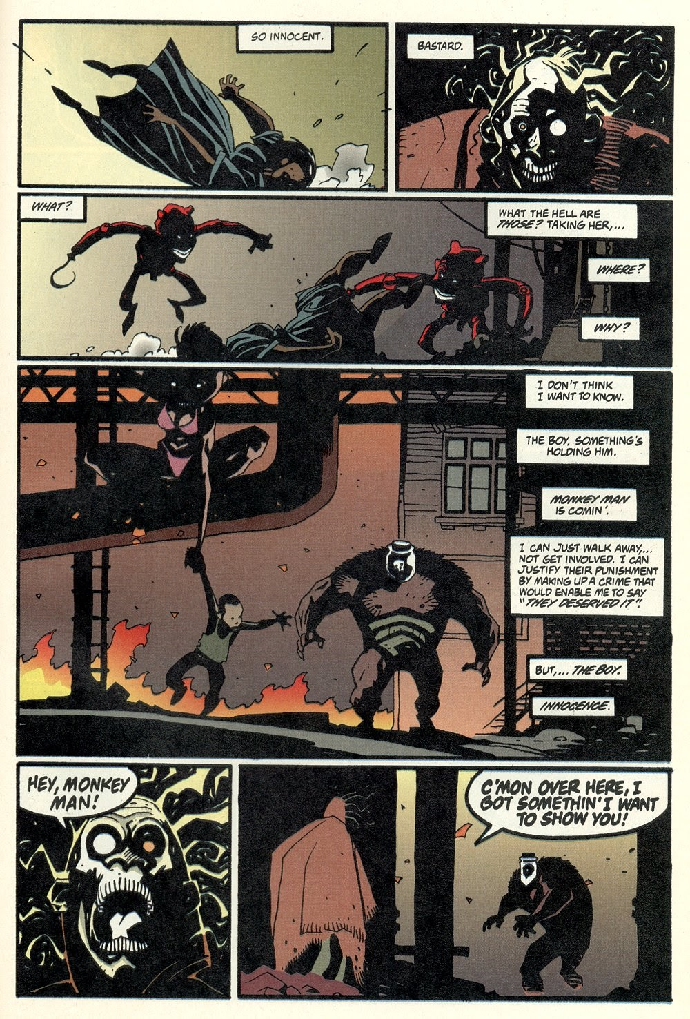 Read online Ted McKeever's Metropol comic -  Issue #11 - 27