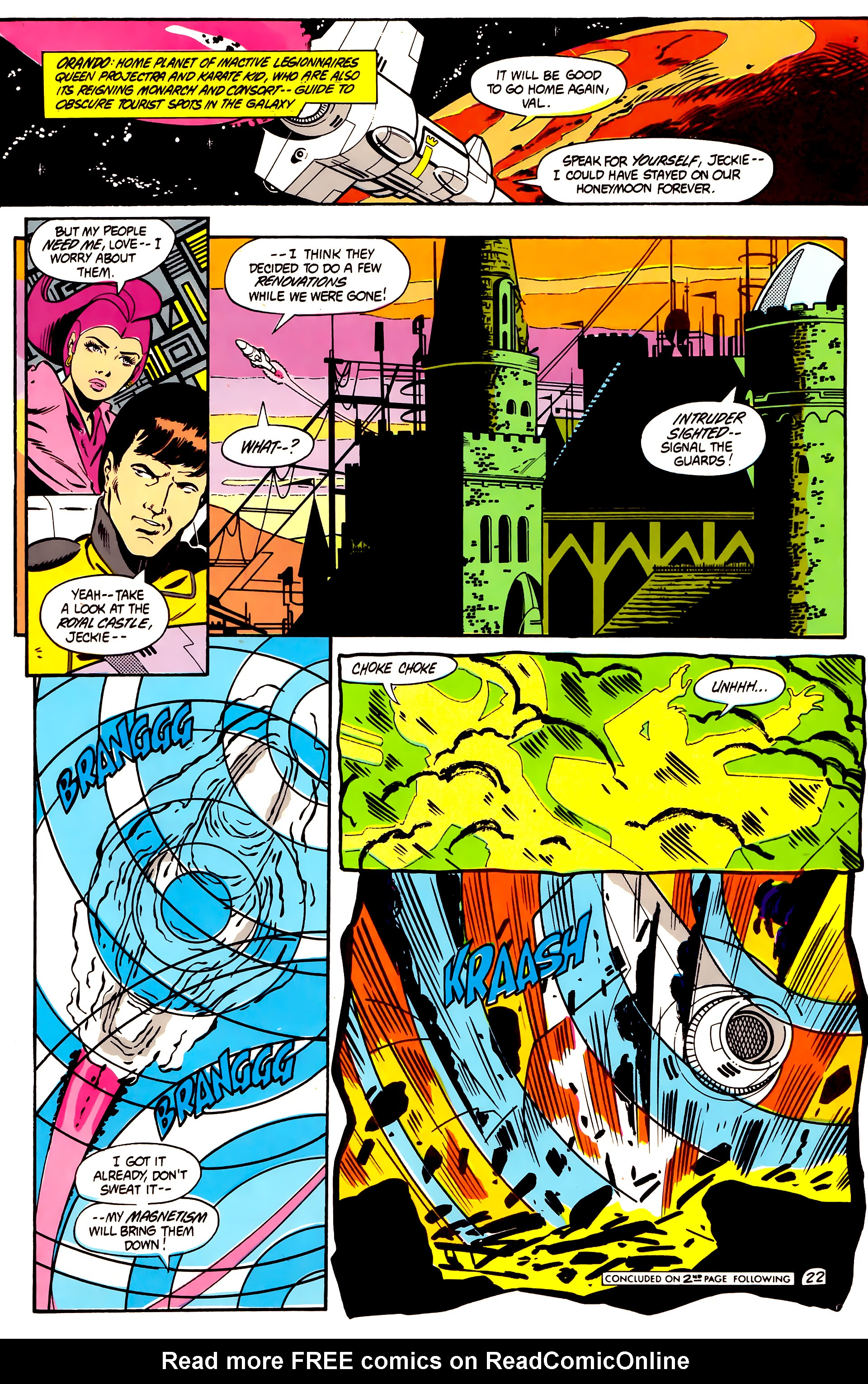 Legion of Super-Heroes (1984) 2 Page 23