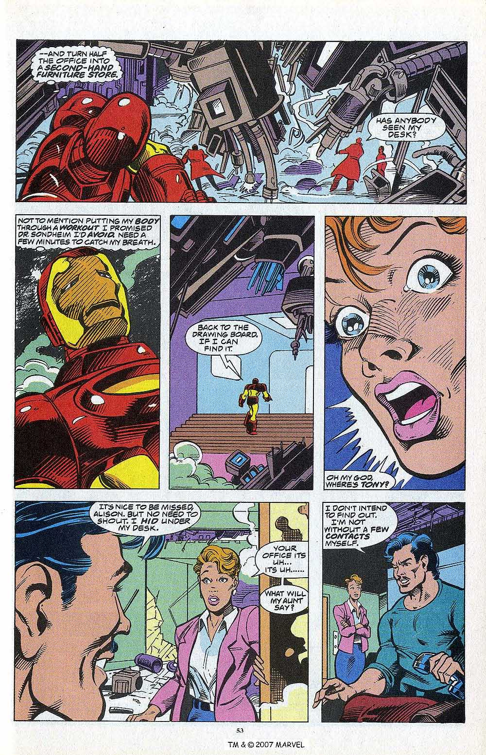 Iron Man Annual issue 13 - Page 55