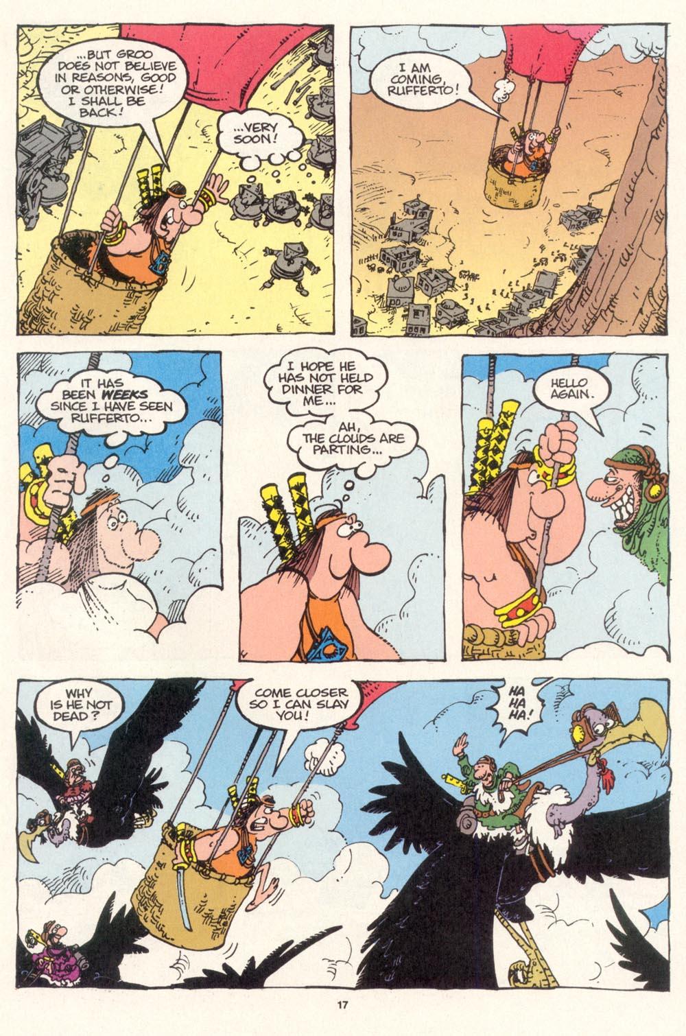 Read online Sergio Aragonés Groo the Wanderer comic -  Issue #115 - 19