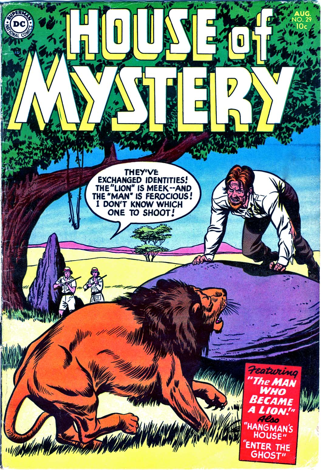 House of Mystery (1951) issue 29 - Page 1
