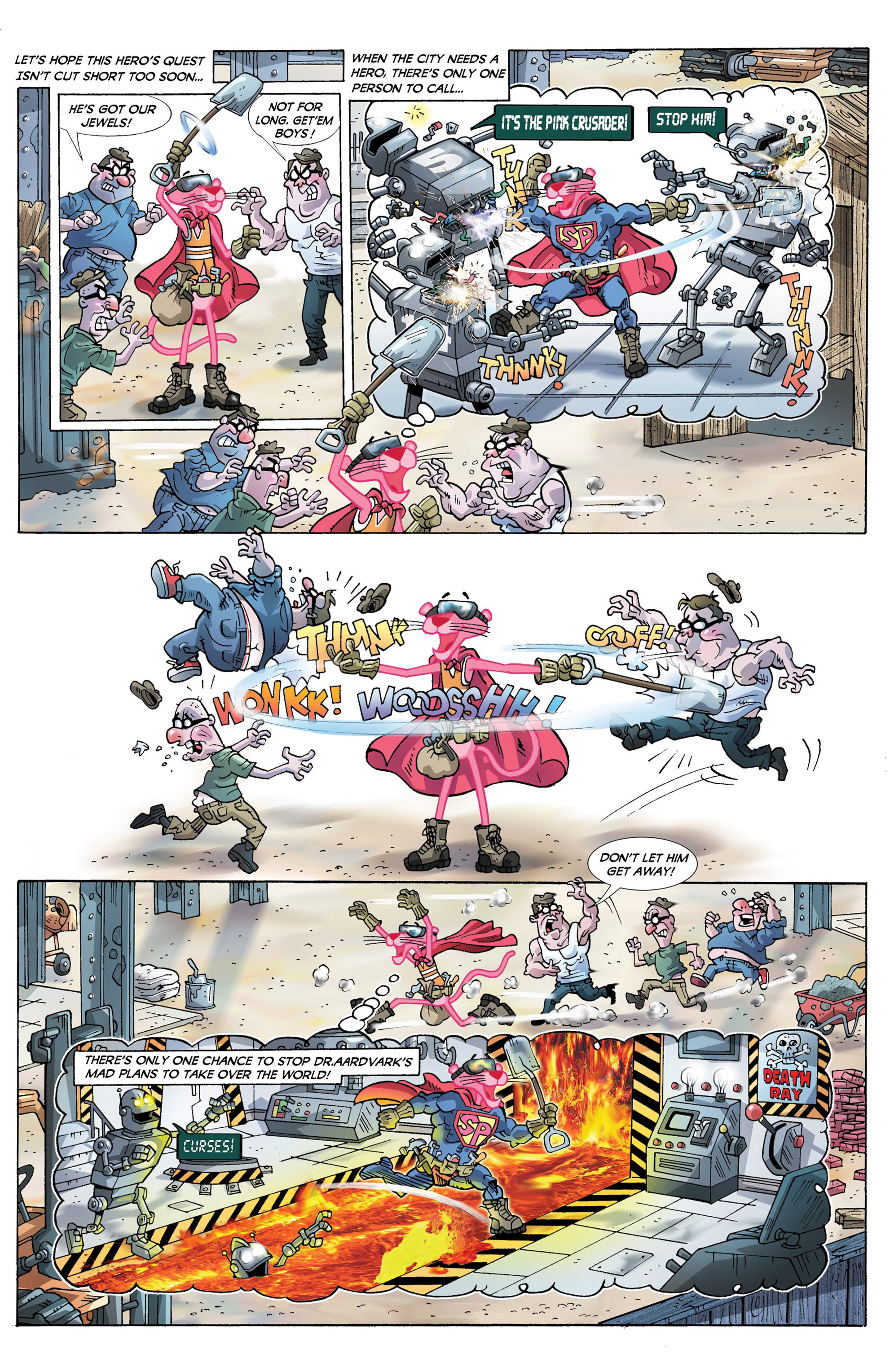 Read online Pink Panther Super-Pink Special comic -  Issue # Full - 6
