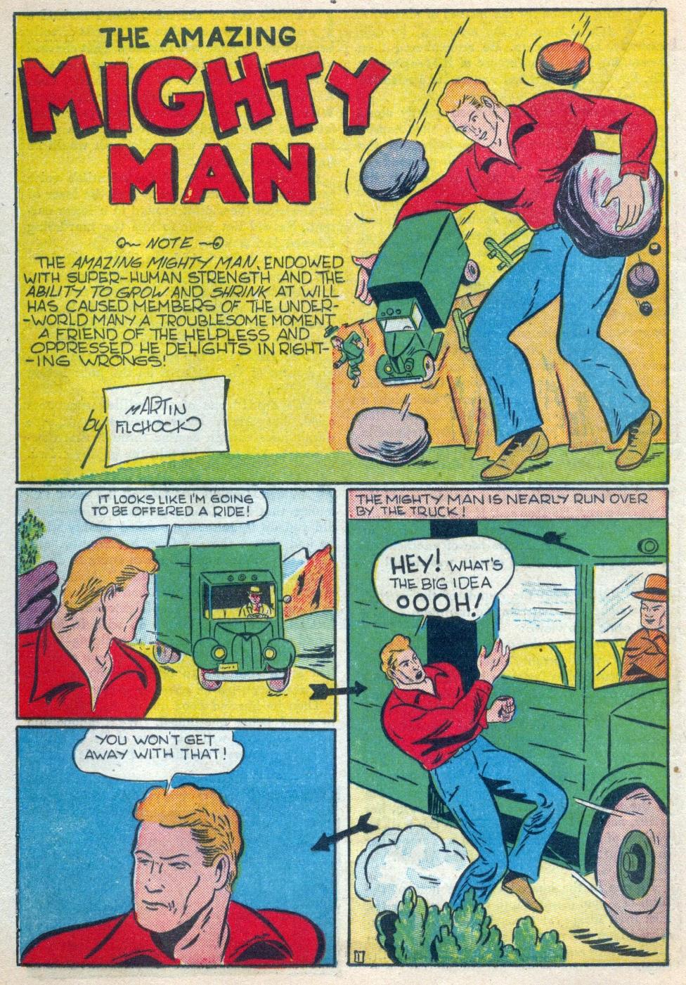 Read online Amazing Man Comics comic -  Issue #15 - 45