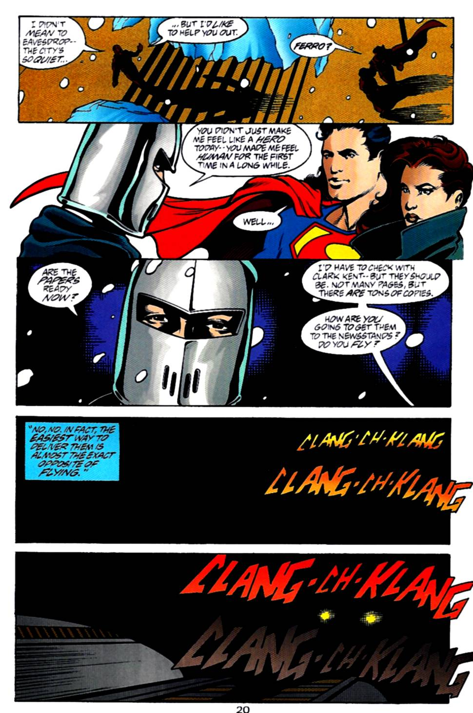 Read online Adventures of Superman (1987) comic -  Issue #540 - 21