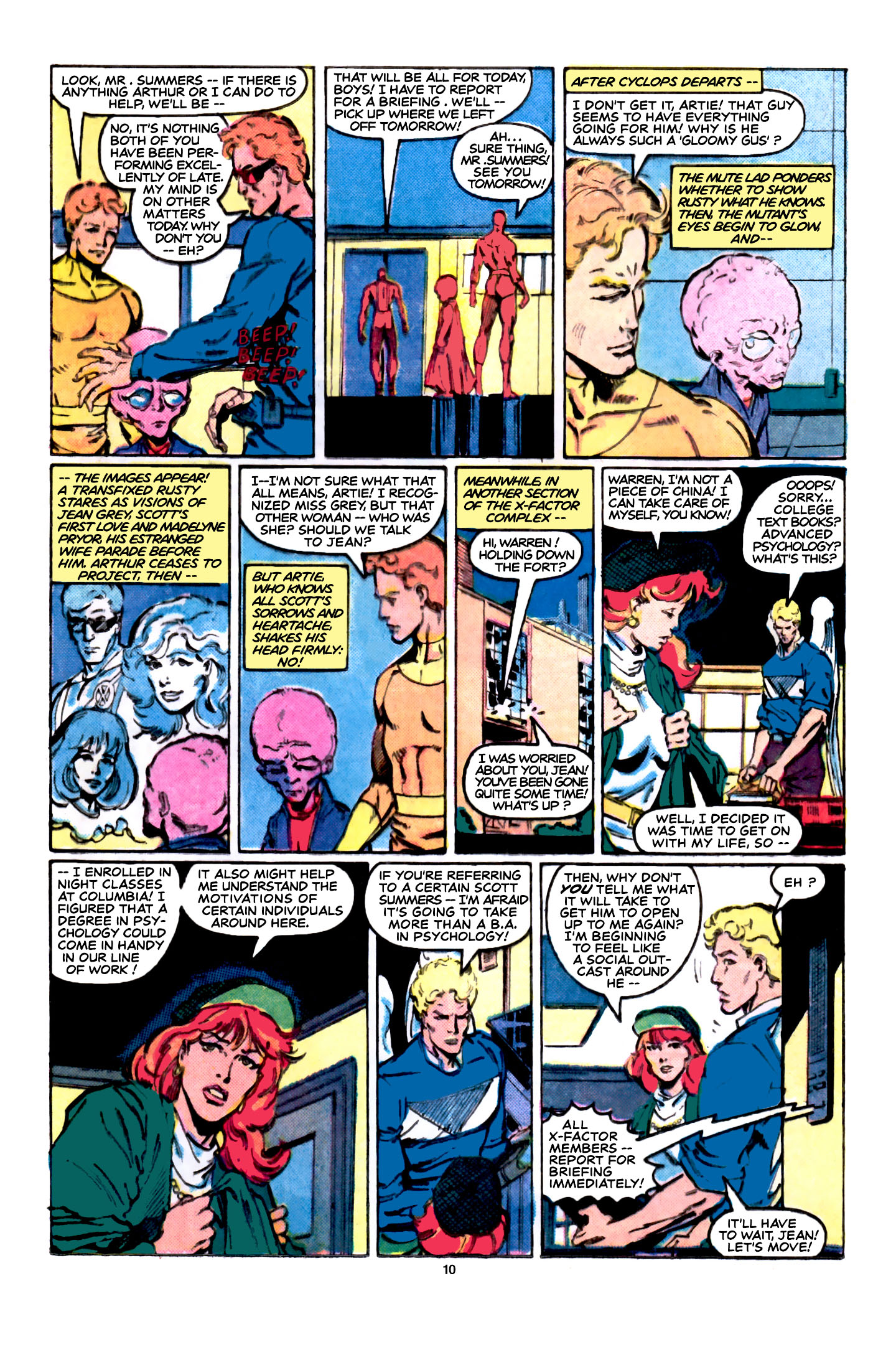 Read online X-Factor (1986) comic -  Issue #5 - 11