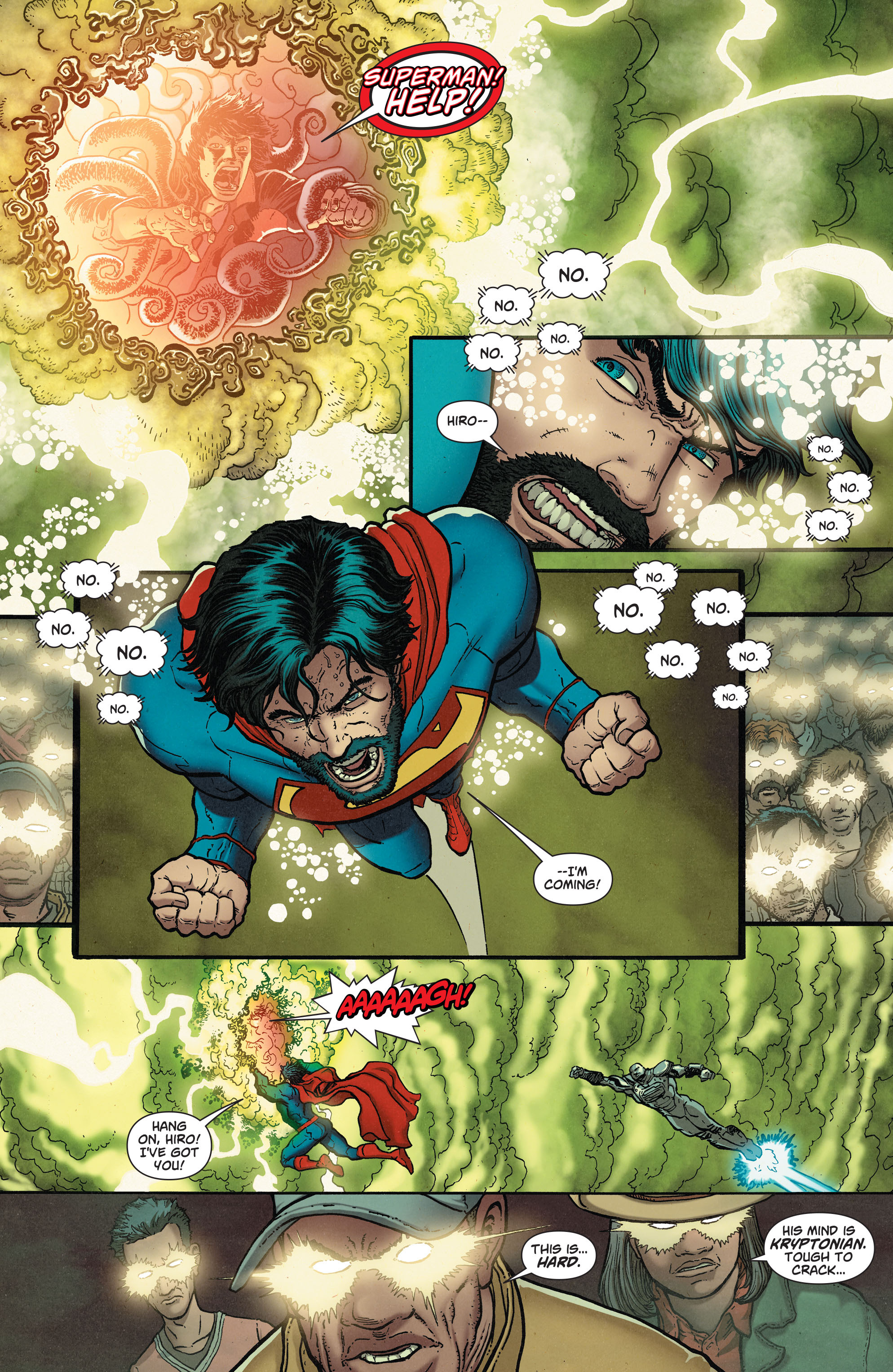 Read online Action Comics (2011) comic -  Issue #37 - 16