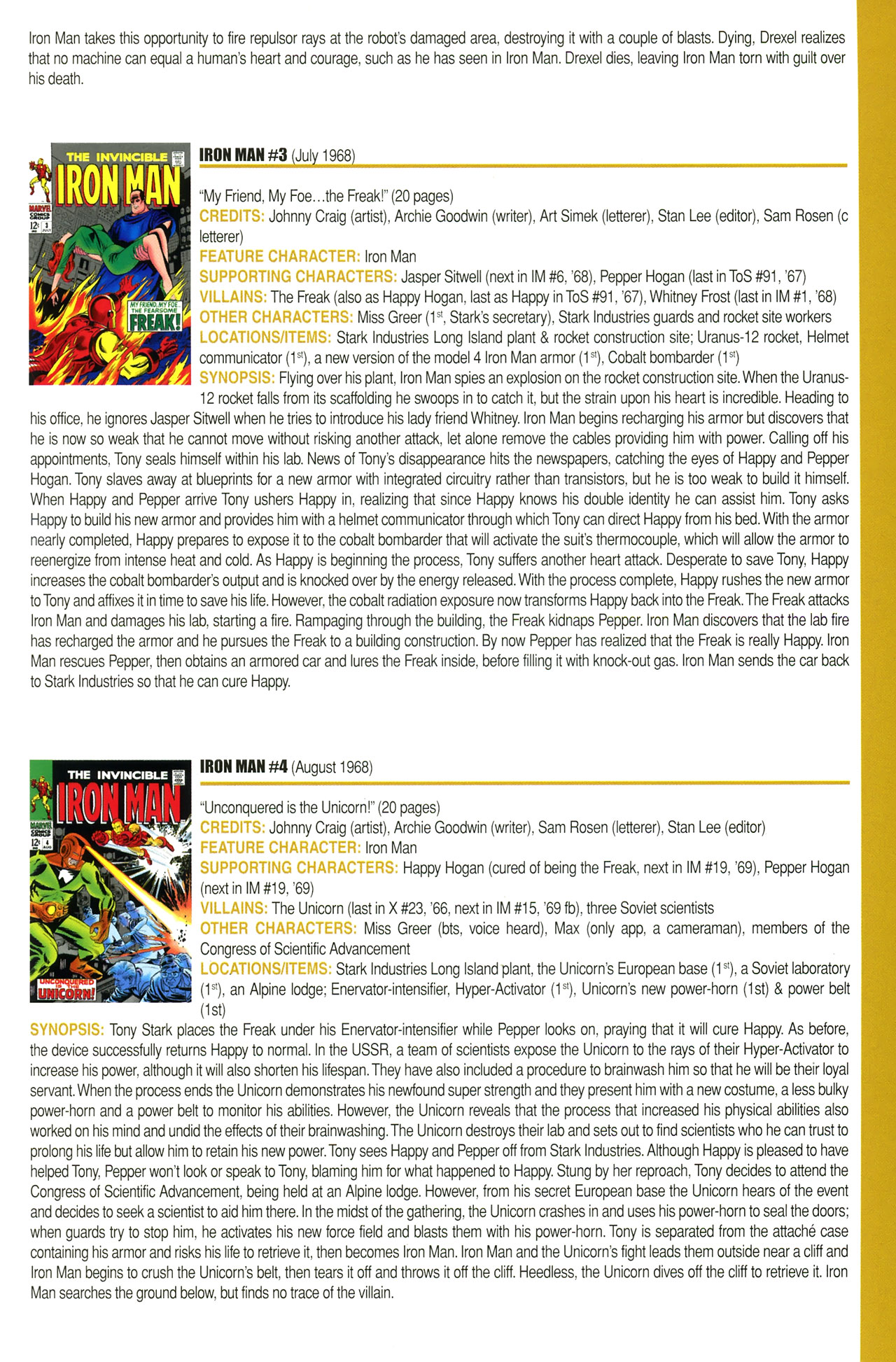 Read online Official Index to the Marvel Universe comic -  Issue #2 - 41
