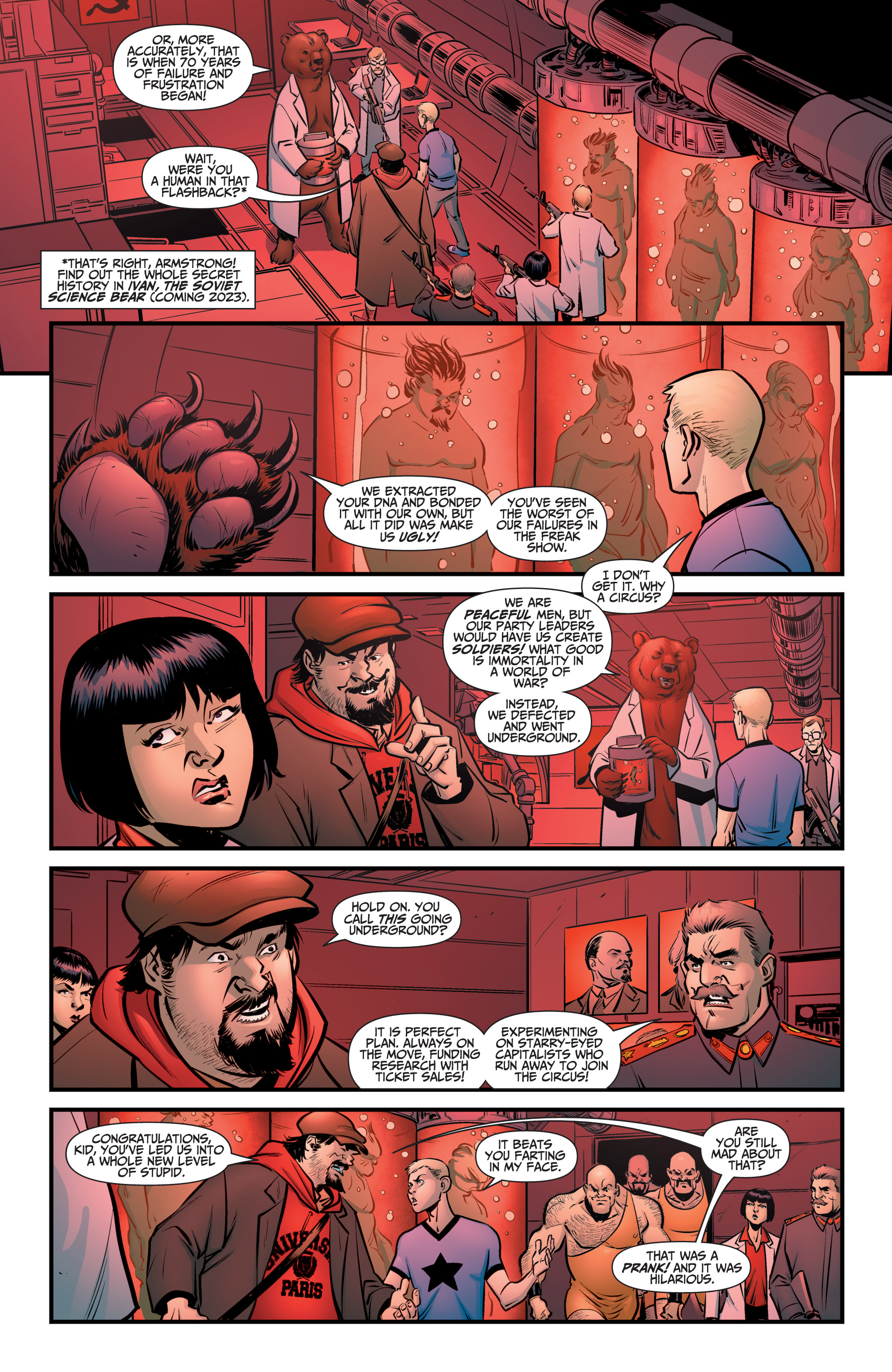 Read online A&A: The Adventures of Archer & Armstrong comic -  Issue #8 - 5