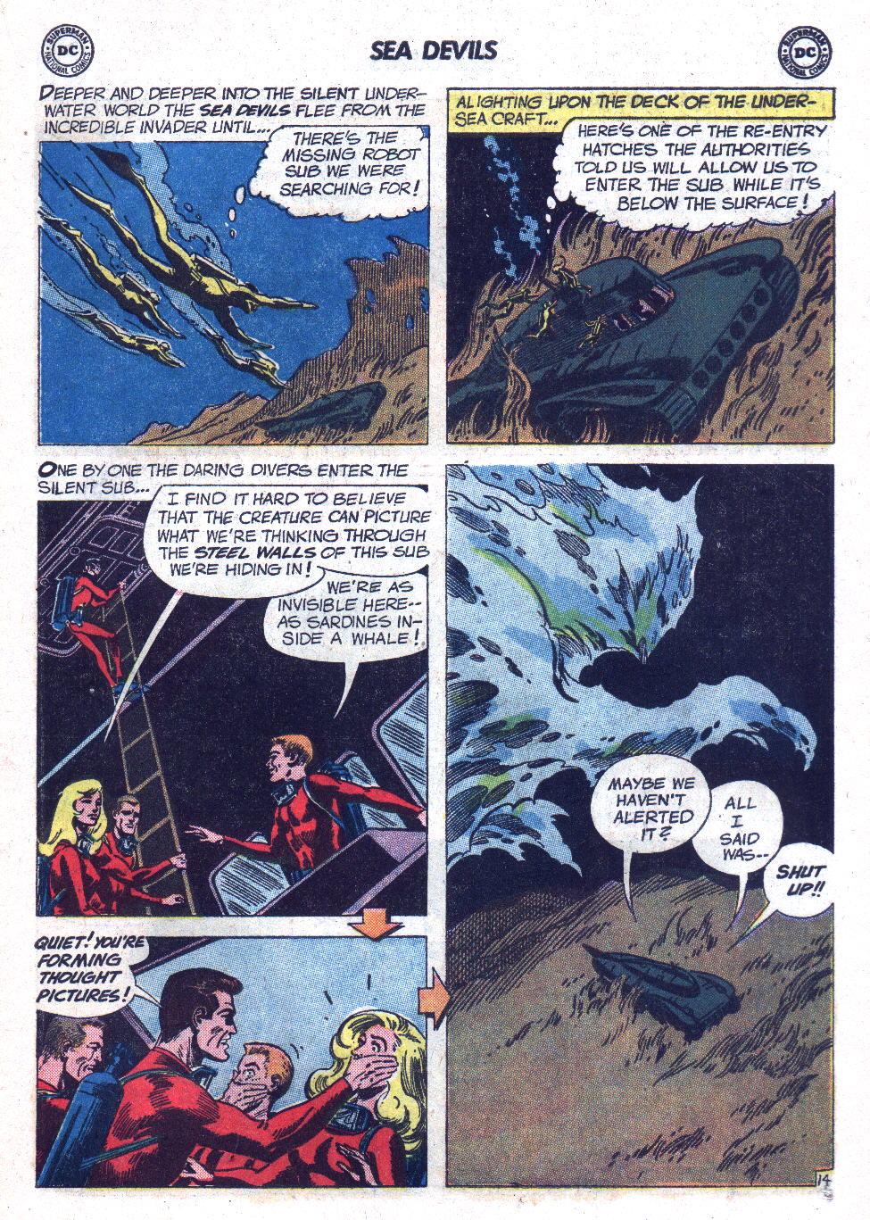 Read online Sea Devils comic -  Issue #7 - 20
