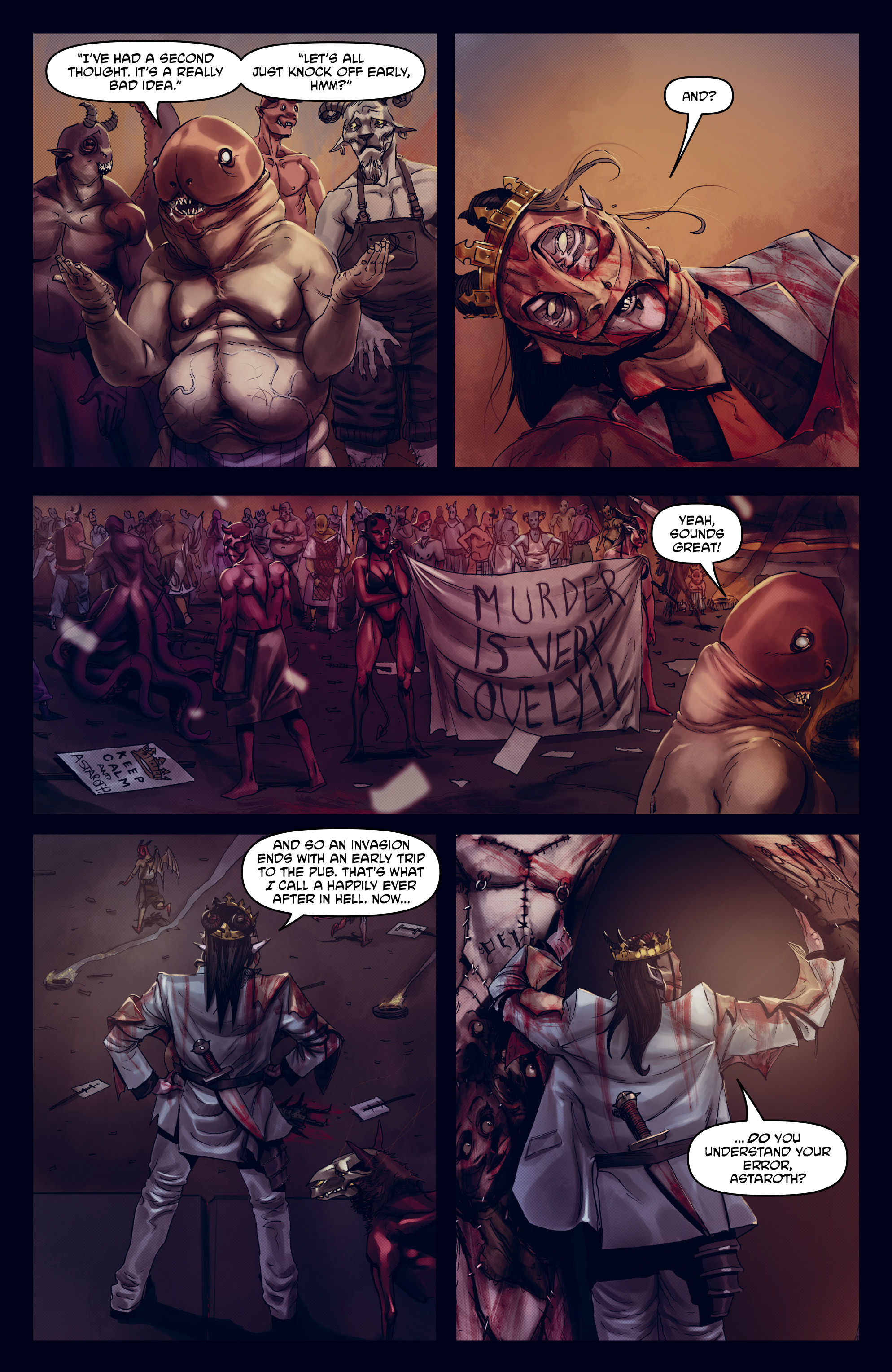 Read online God is Dead: Book of Acts comic -  Issue # Omega - 34