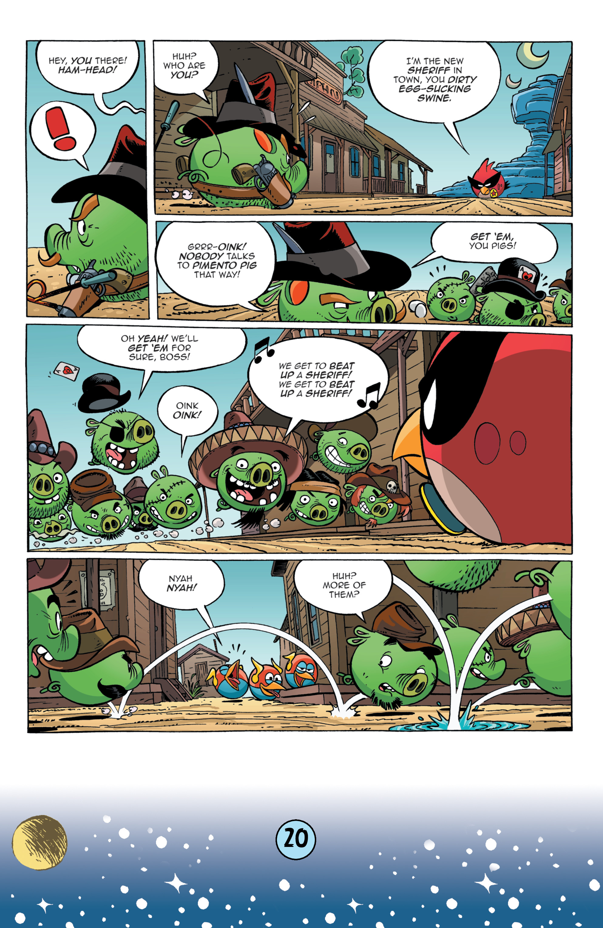 Read online Angry Birds Comics (2016) comic -  Issue #9 - 22