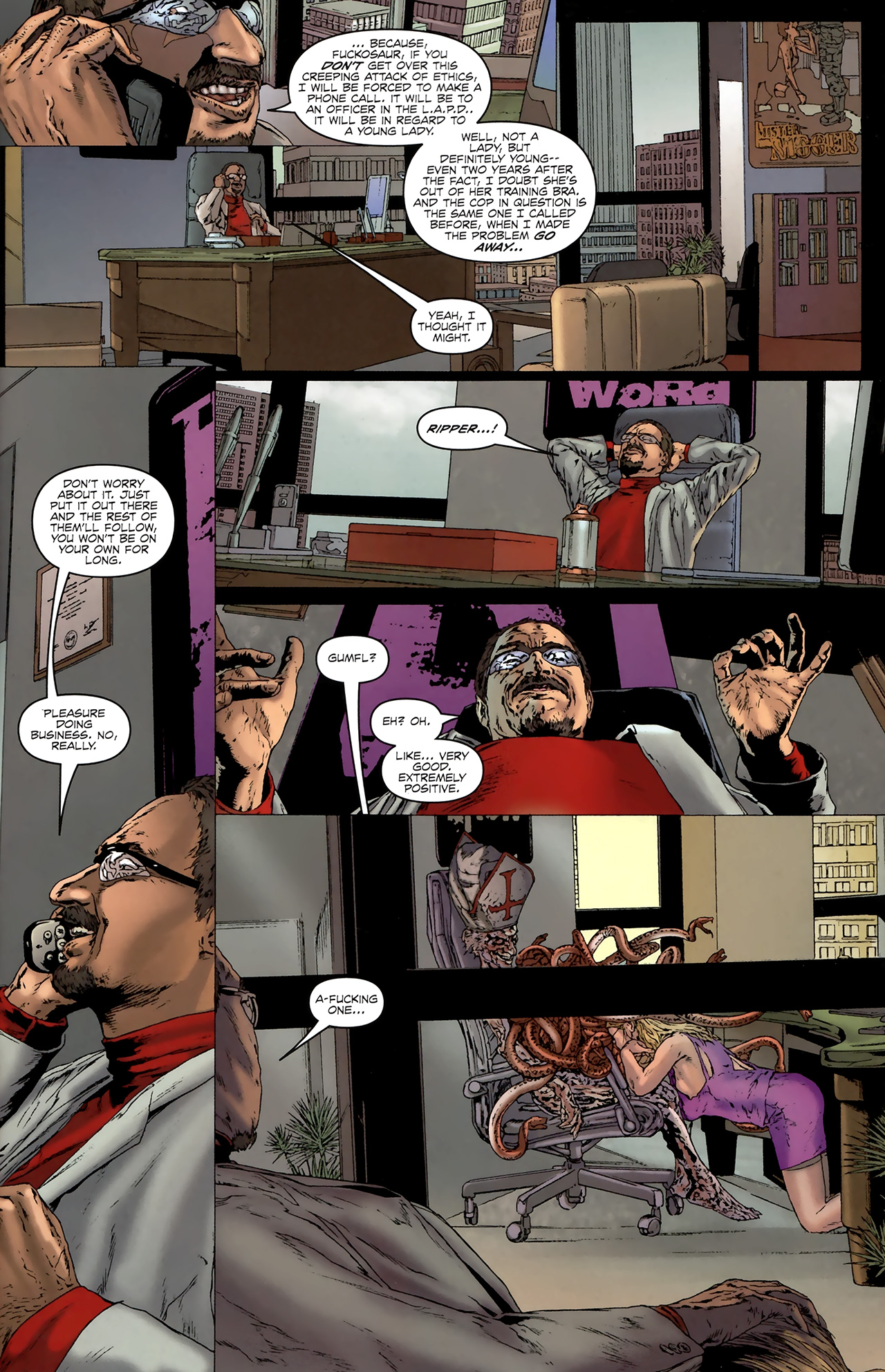 Read online Chronicles of Wormwood: The Last Battle comic -  Issue #3 - 6