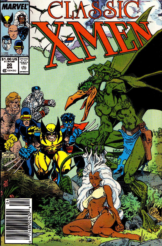 Classic X-Men 20 Page 1